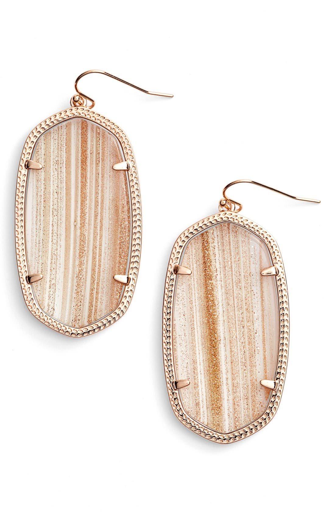 Alternate Image 1 Selected - Kendra Scott Danielle - Large Oval Statement Earrings