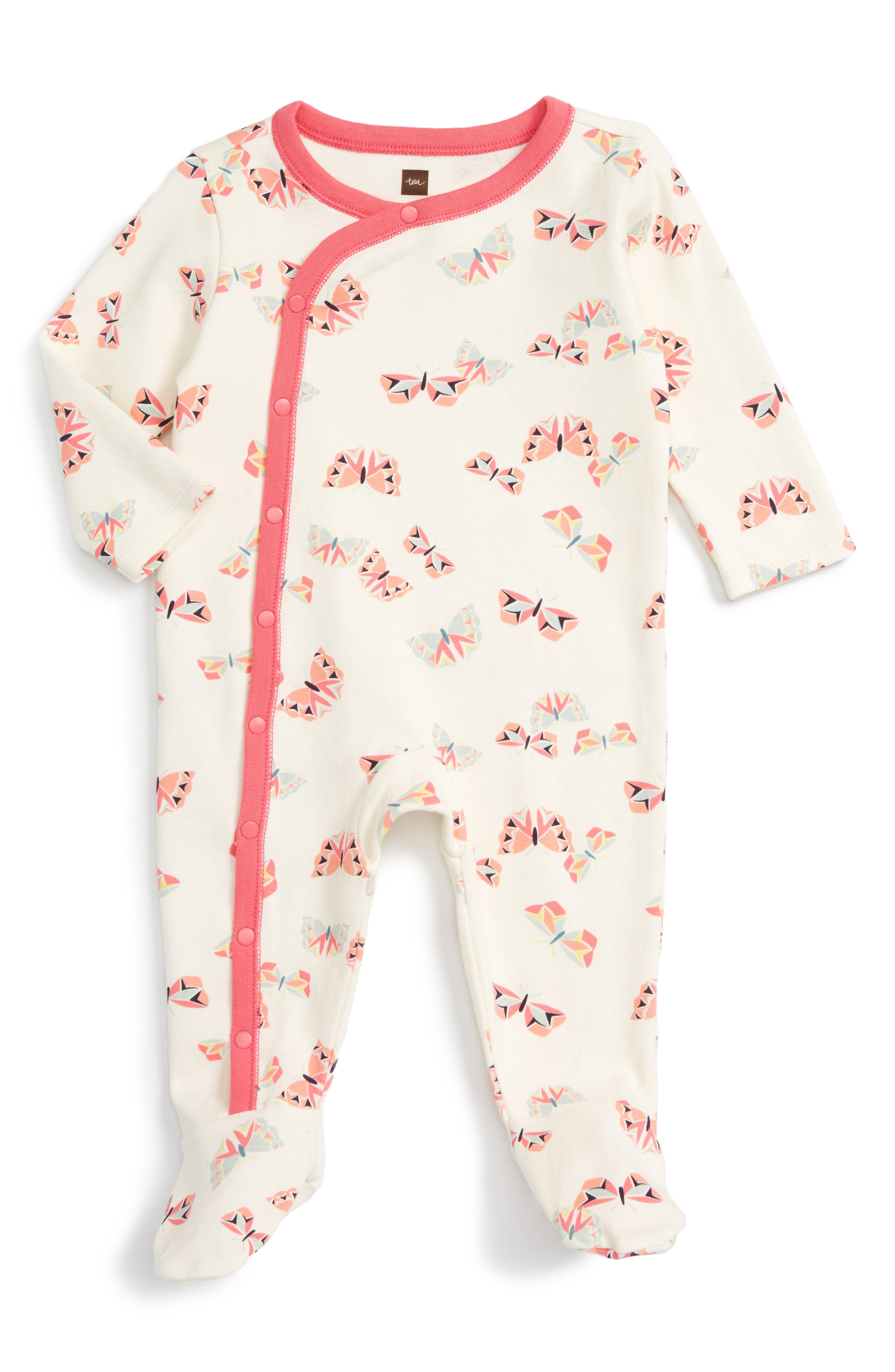TEA COLLECTION Flutterby Fitted One-Piece Pajamas