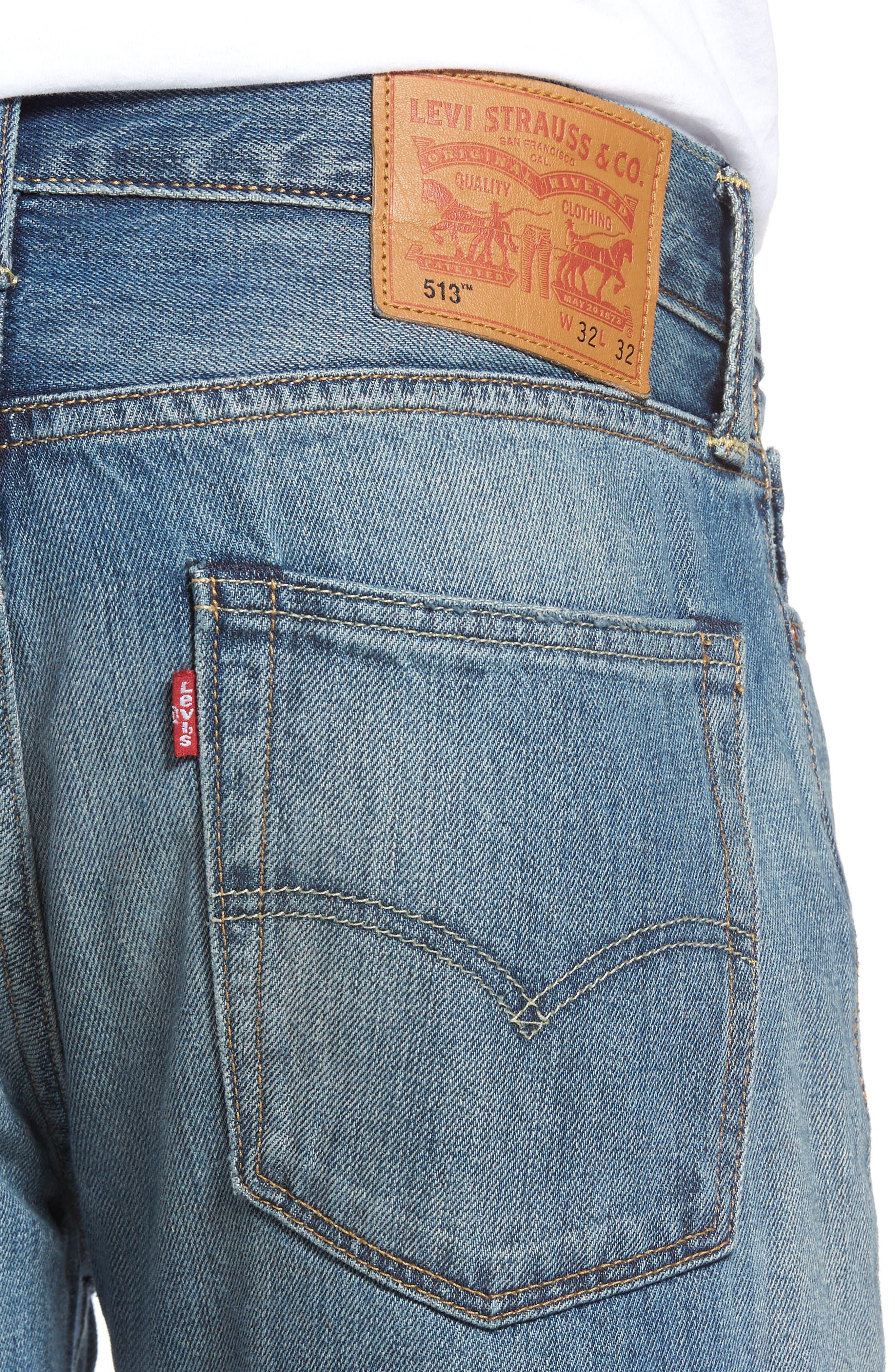 Alternate Image 4  - Levi's® 511™ Slim Fit Jeans (The Cavern)