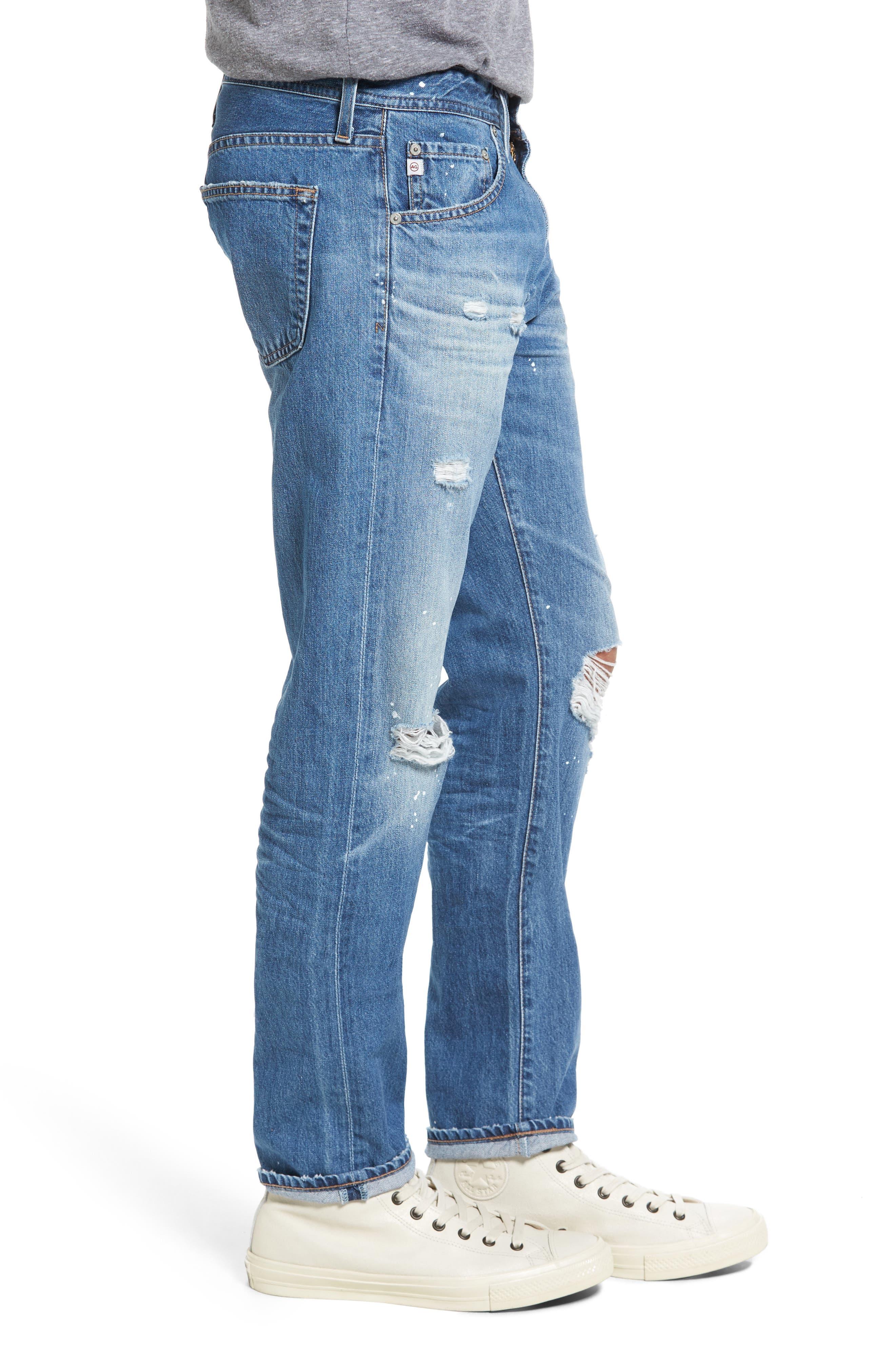 Alternate Image 3  - AG Tellis Slim Fit Jeans (22 Years Melville)