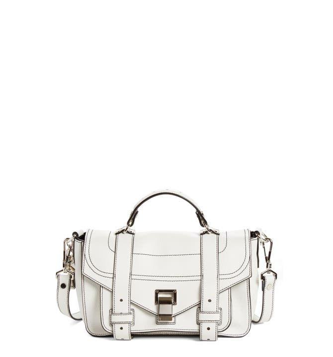 71919df944f2 Main Image - Proenza Schouler Tiny PS1+ Grainy Leather Satchel