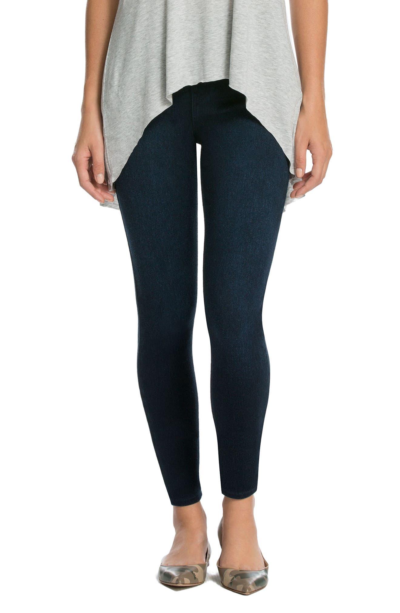 Alternate Image 1 Selected - SPANX® Jean-ish Leggings