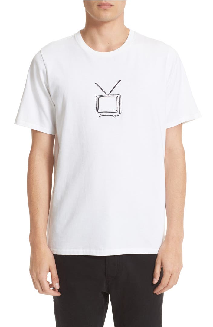Rag Bone Tv Embroidery T Shirt Nordstrom