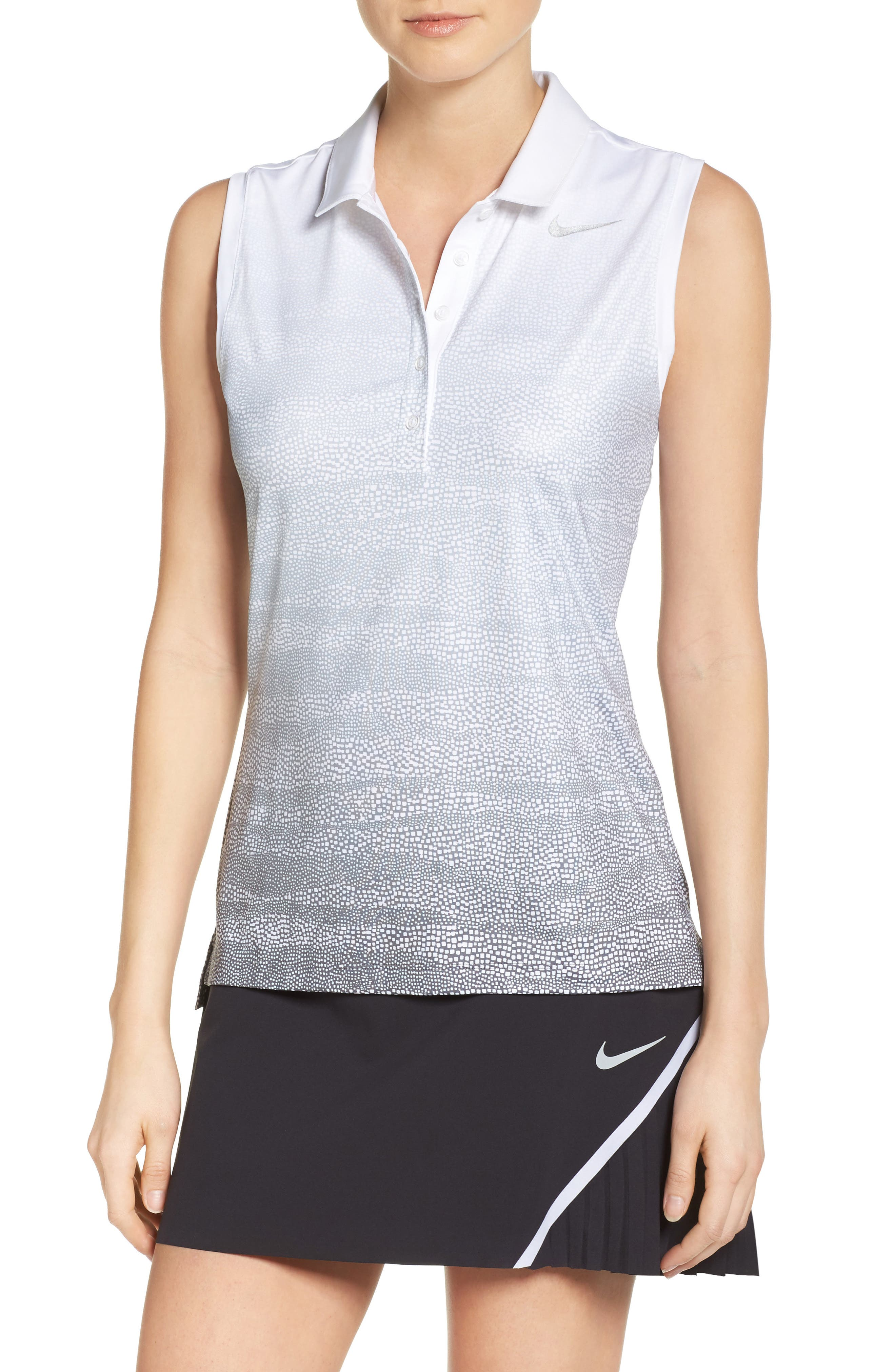 Nike Precision Sleeveless Golf Polo