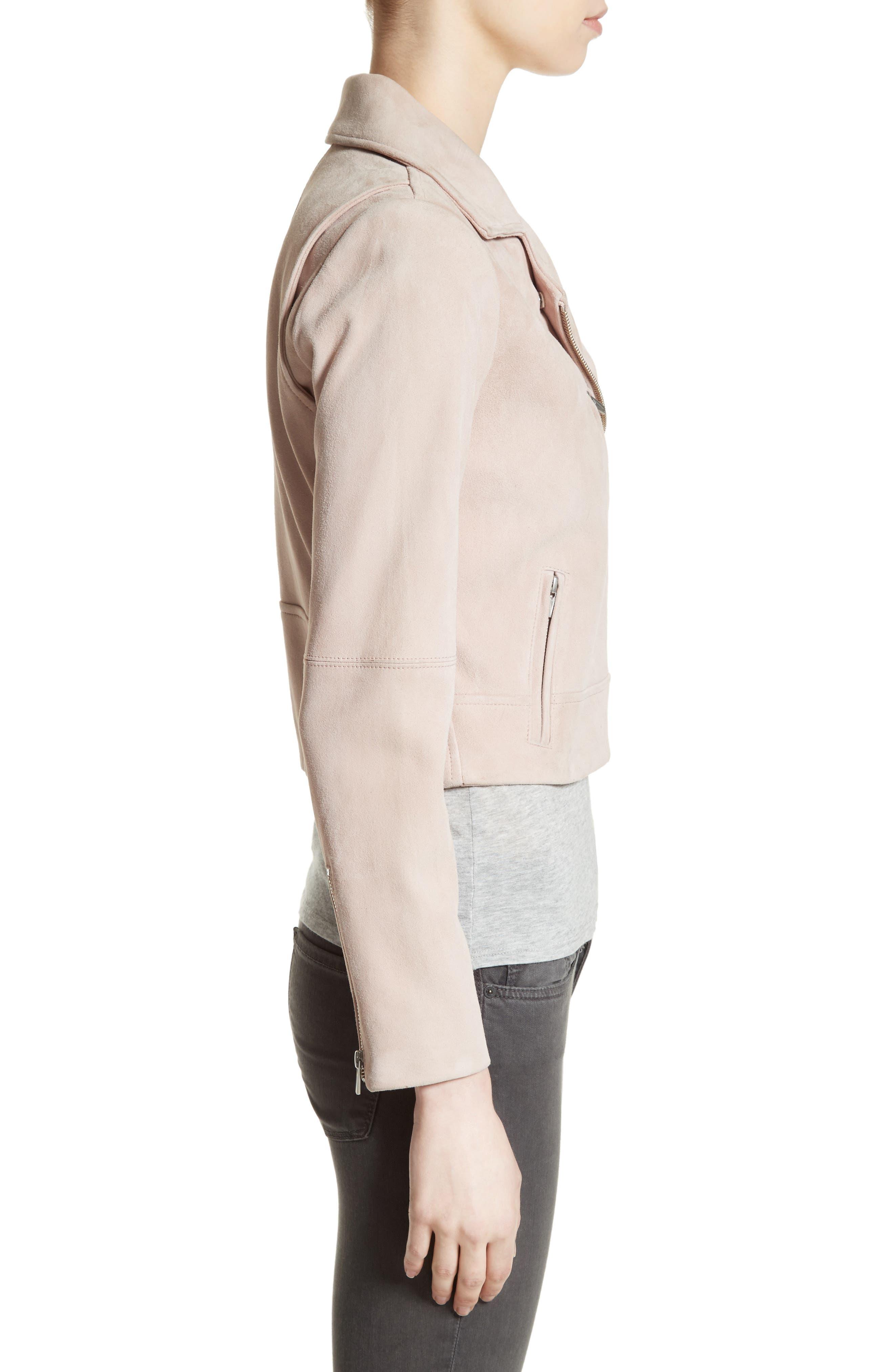 Alternate Image 3  - Veda Nova Suede Moto Jacket
