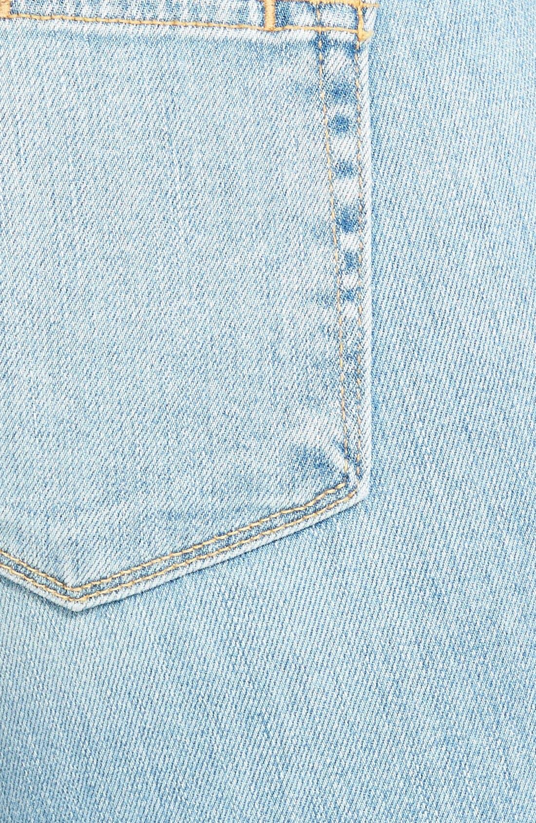 Alternate Image 3  - Paige Denim 'Skyline' Ankle Peg Jeans (Loren Blue)