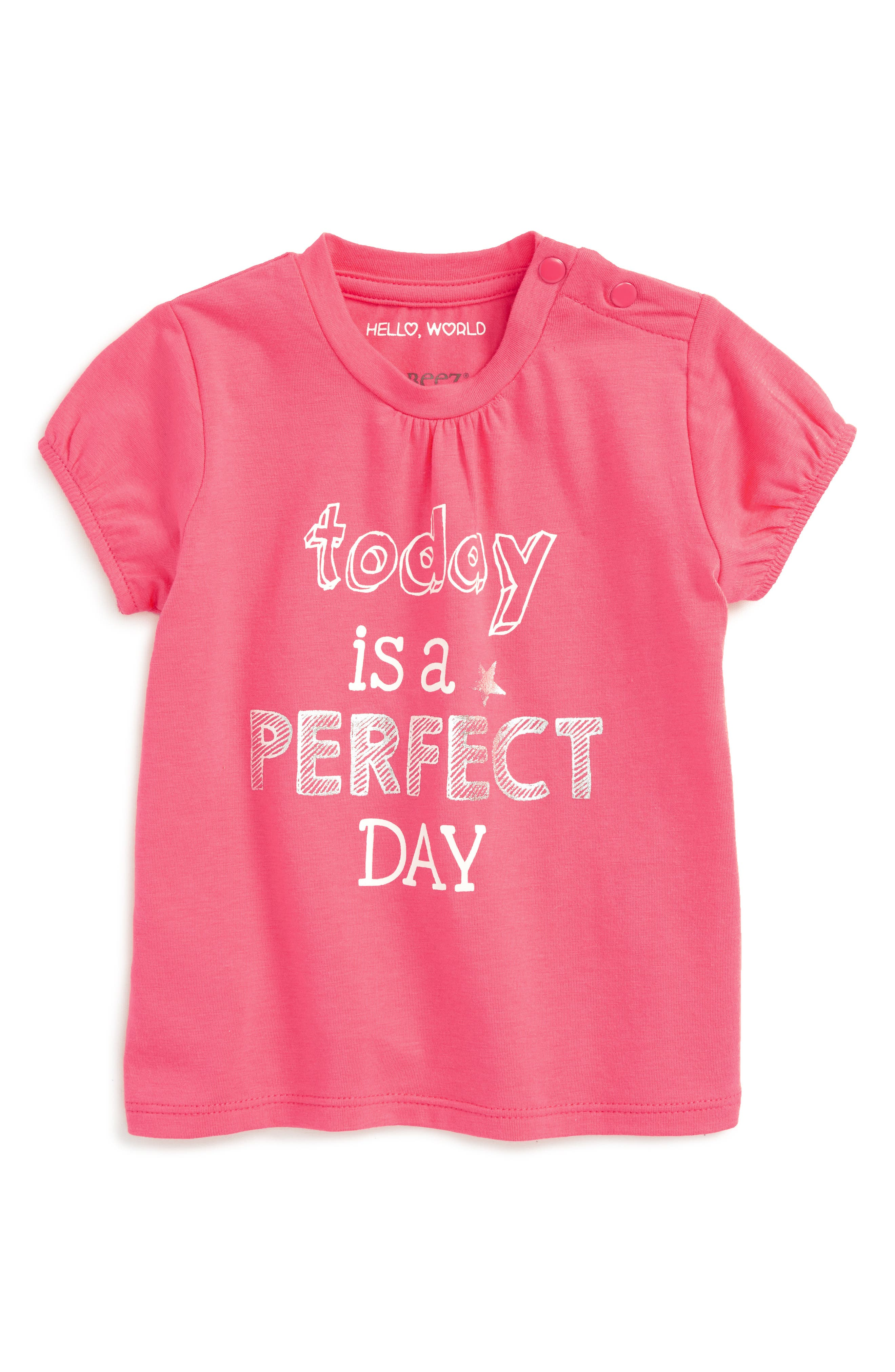 Robeez® Today Is A Perfect Day Tee (Baby Girls)