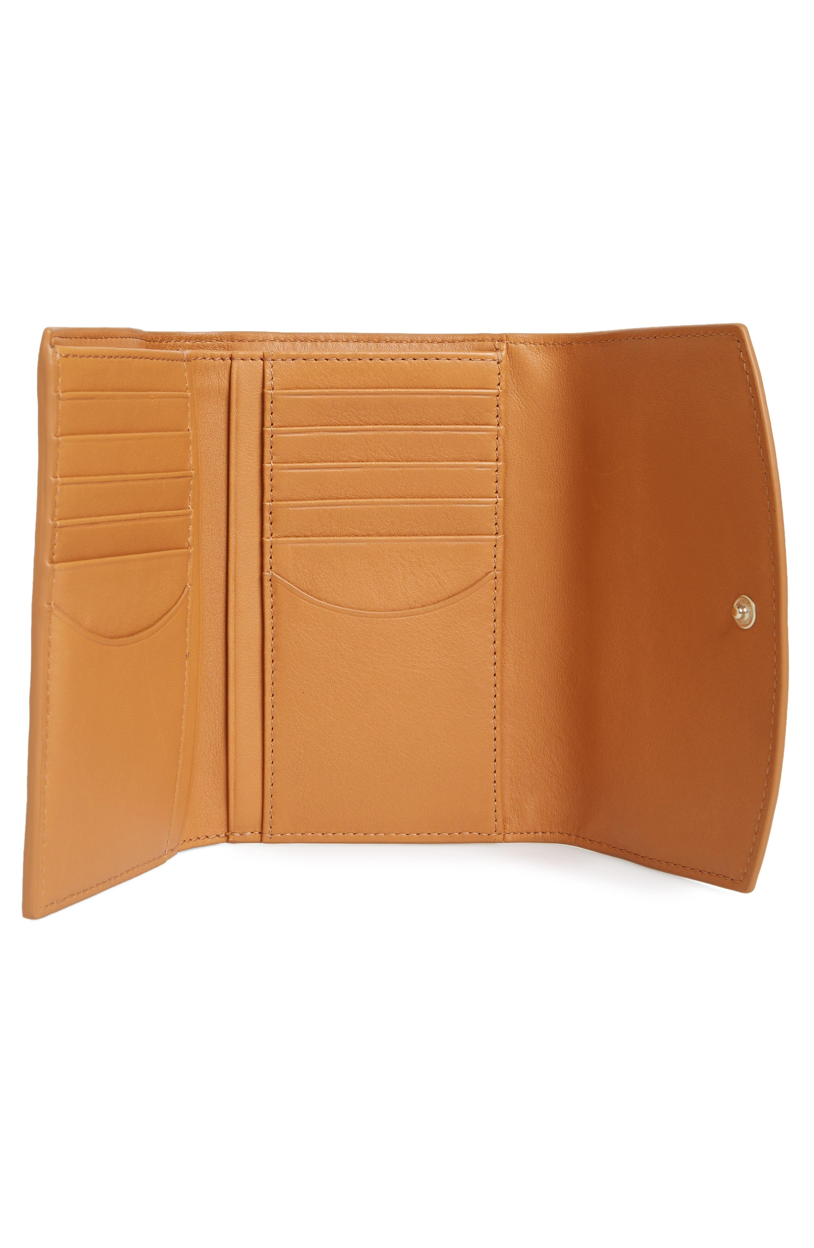 Alternate Image 2  - Skagen Compact Leather Flap Wallet
