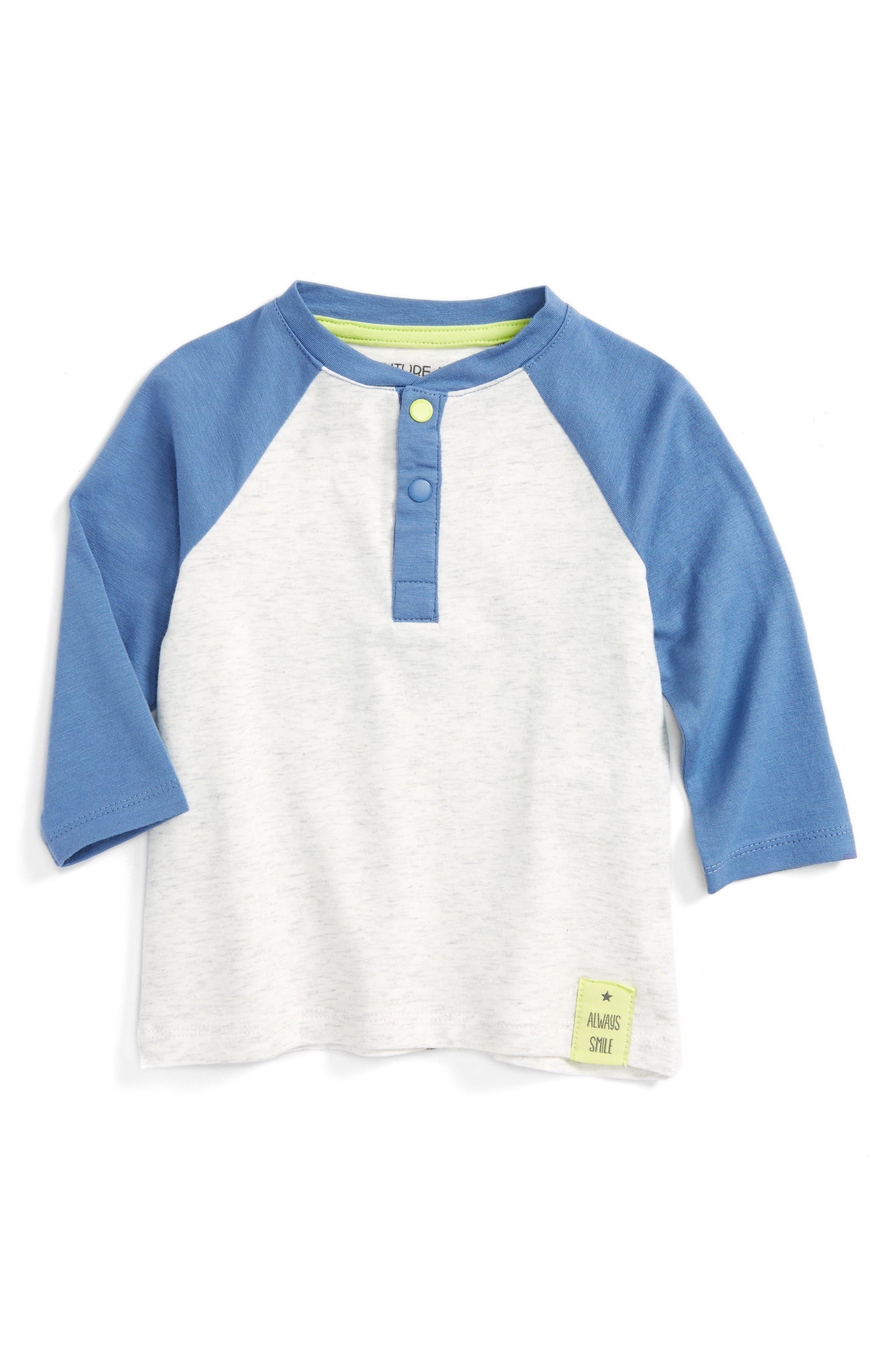 Robeez® Raglan Sleeve T-Shirt (Baby Boys)
