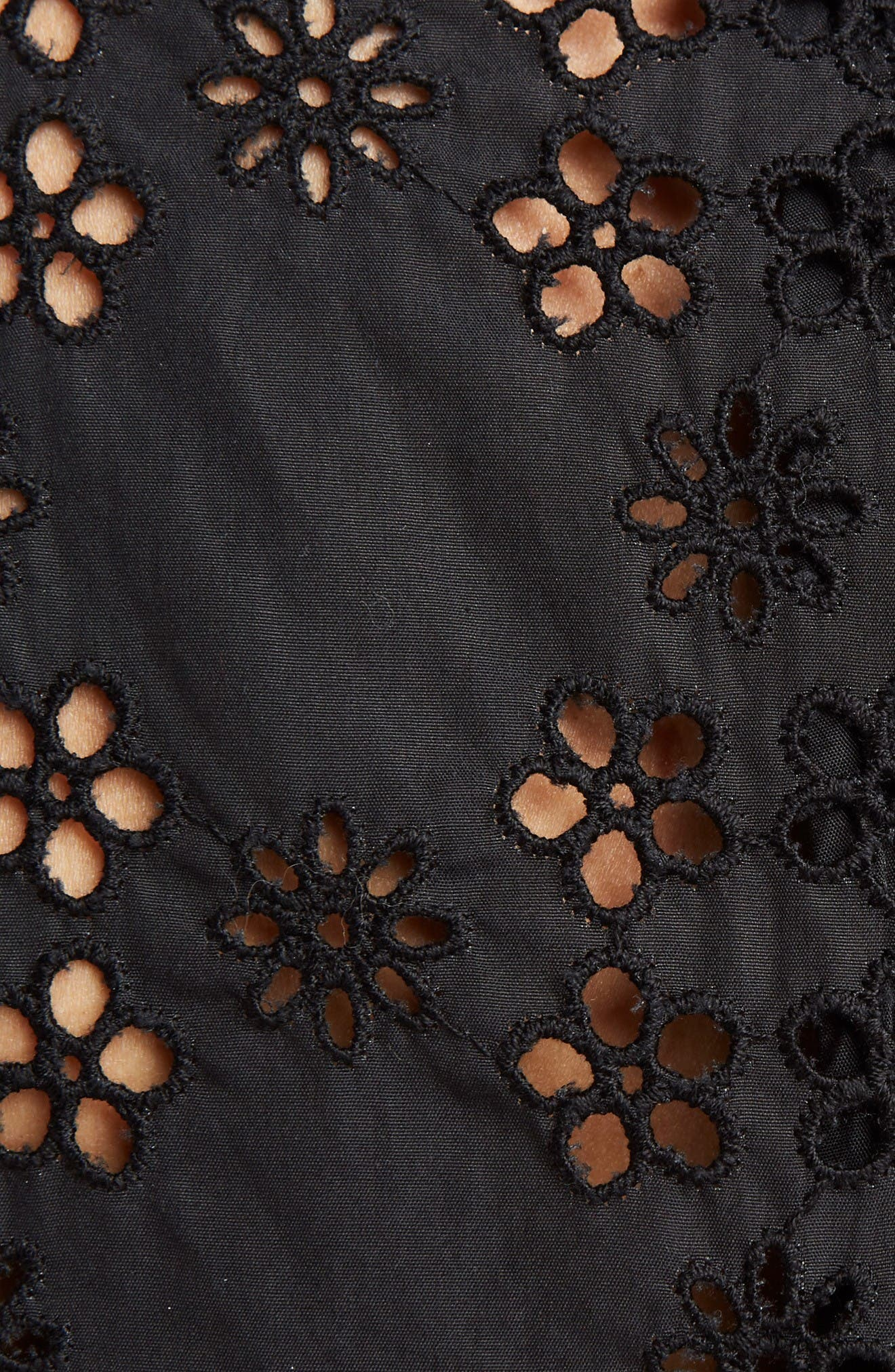 Alternate Image 3  - Simone Rocha Eyelet Frill Dress