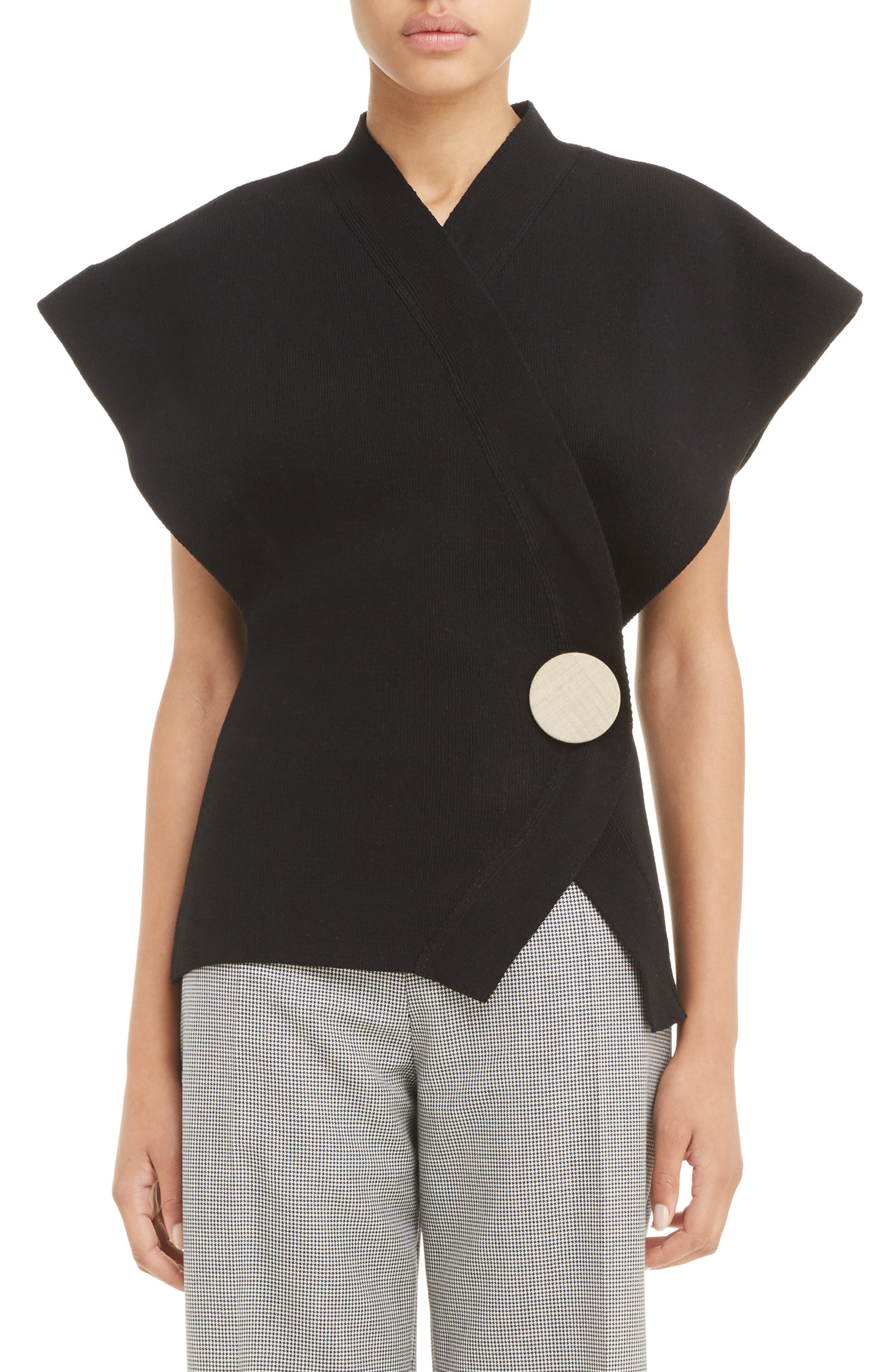 Alternate Image 1 Selected - Jacquemus Le Cardigan Wrap Sweater