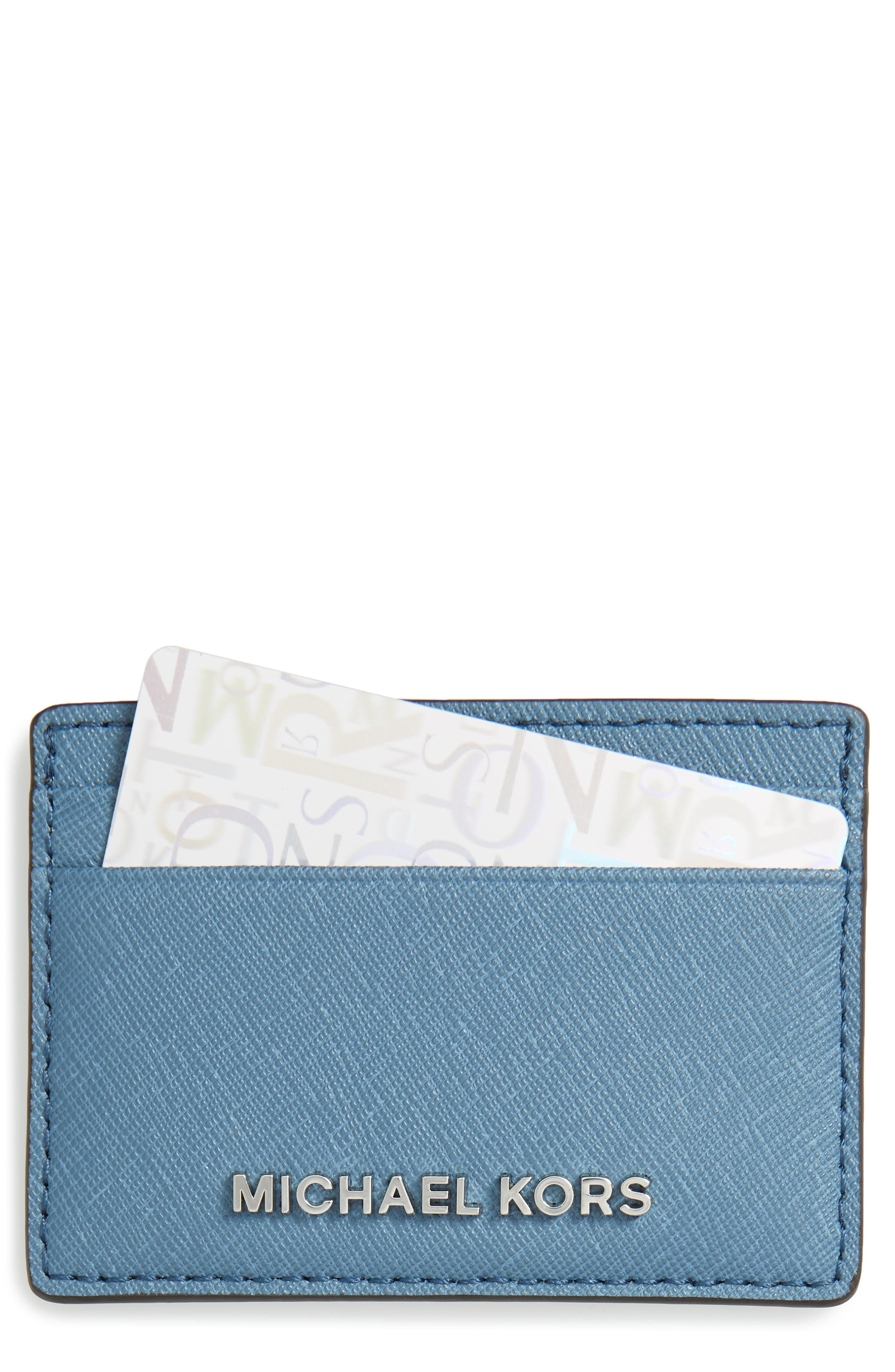 MICHAEL Michael Kors 'Jet Set' Card Holder