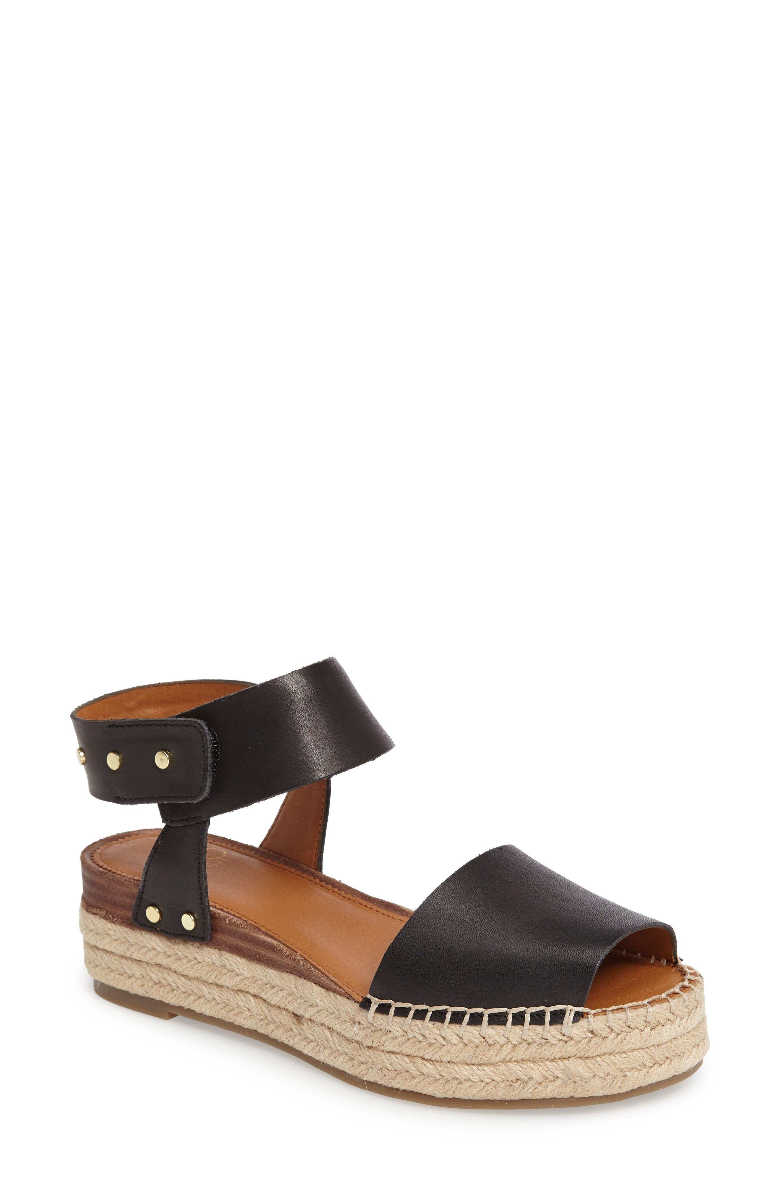 SARTO by Franco Sarto Oak Platform Wedge Espadrille (Women)