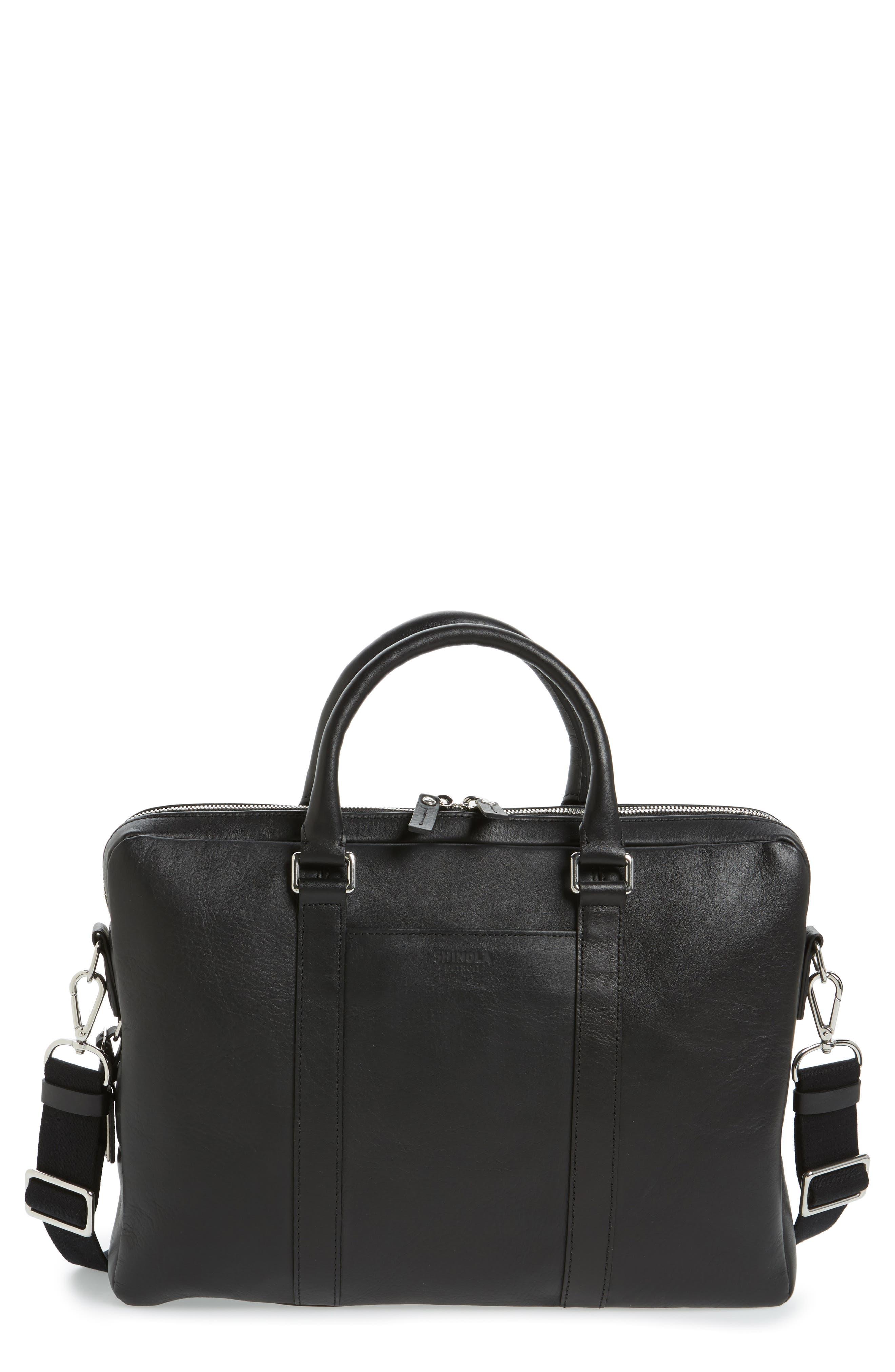 Alternate Image 1 Selected - Shinola Signature Leather Briefcase