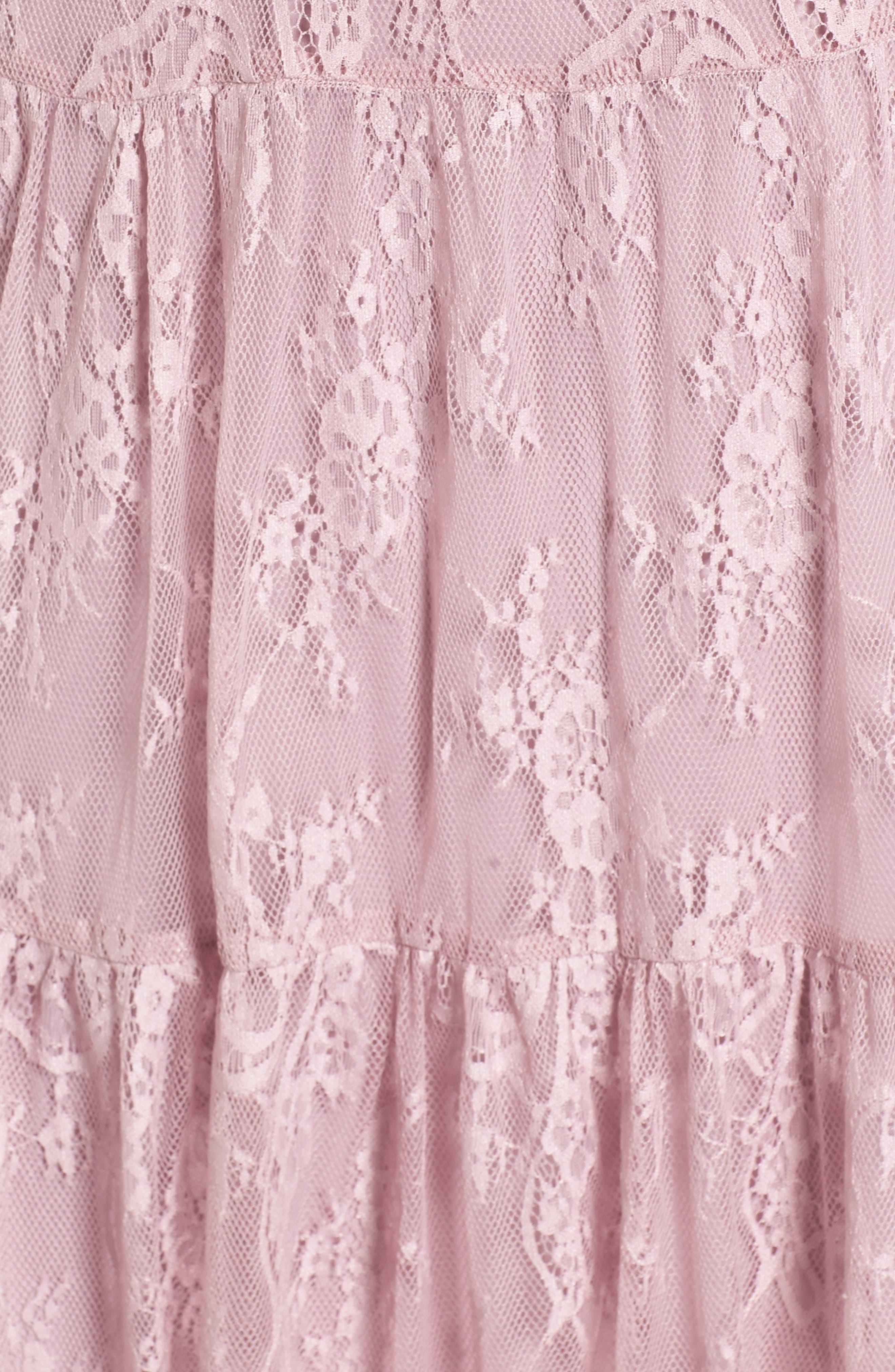 Alternate Image 5  - WAYF Hadley Lace Midi Dress