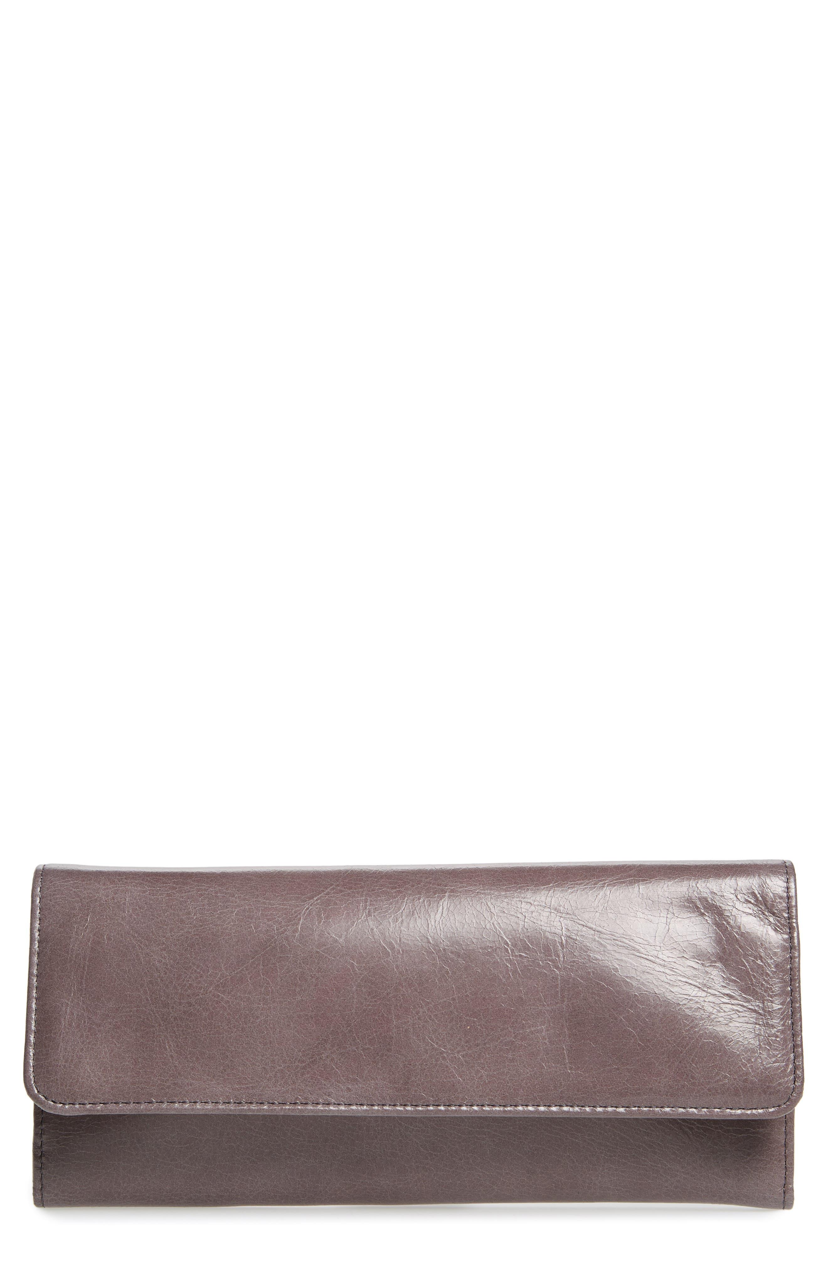 Alternate Image 1 Selected - Hobo 'Sadie' Leather Wallet