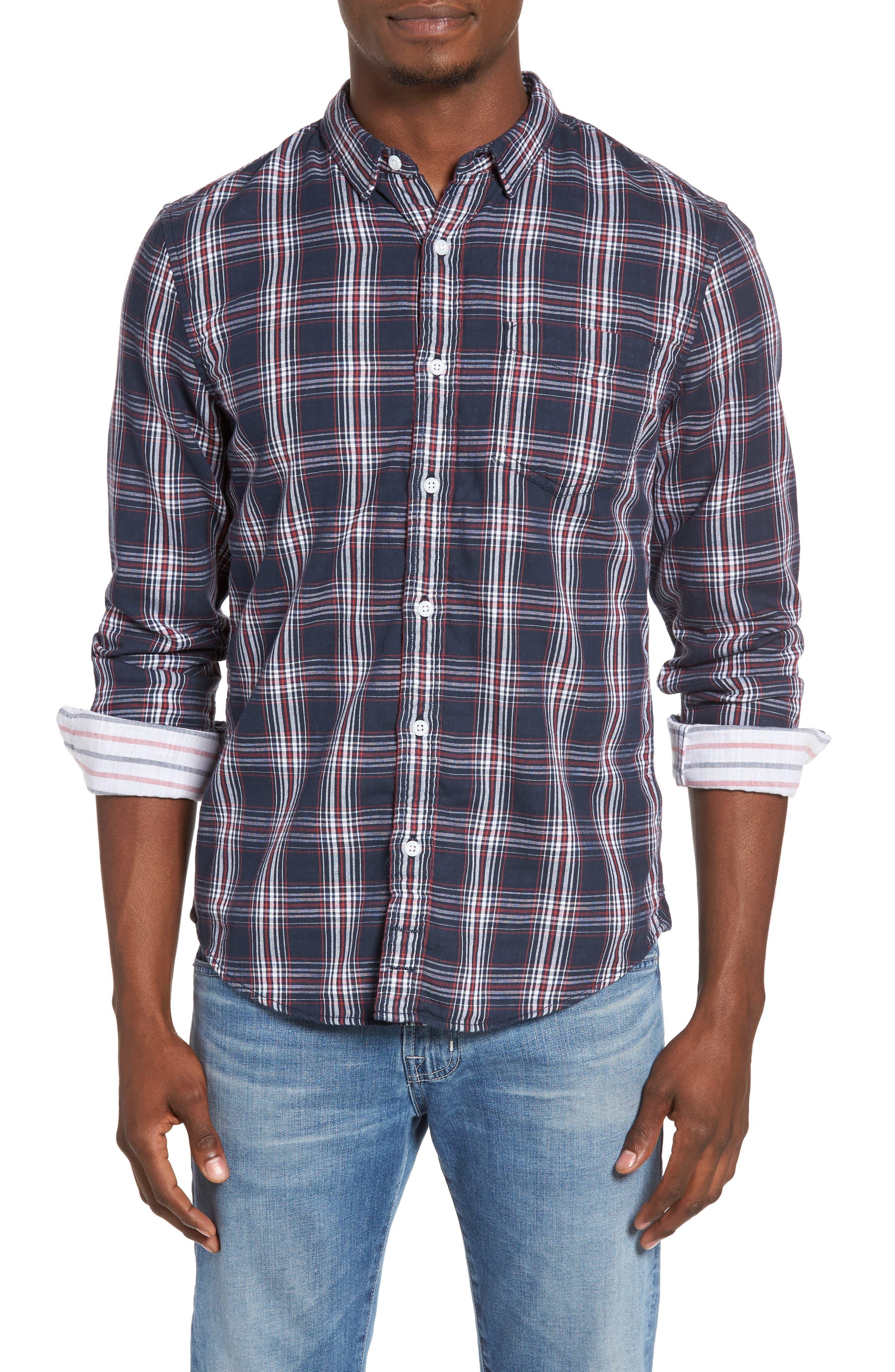 1901 Duofold Plaid Woven Shirt