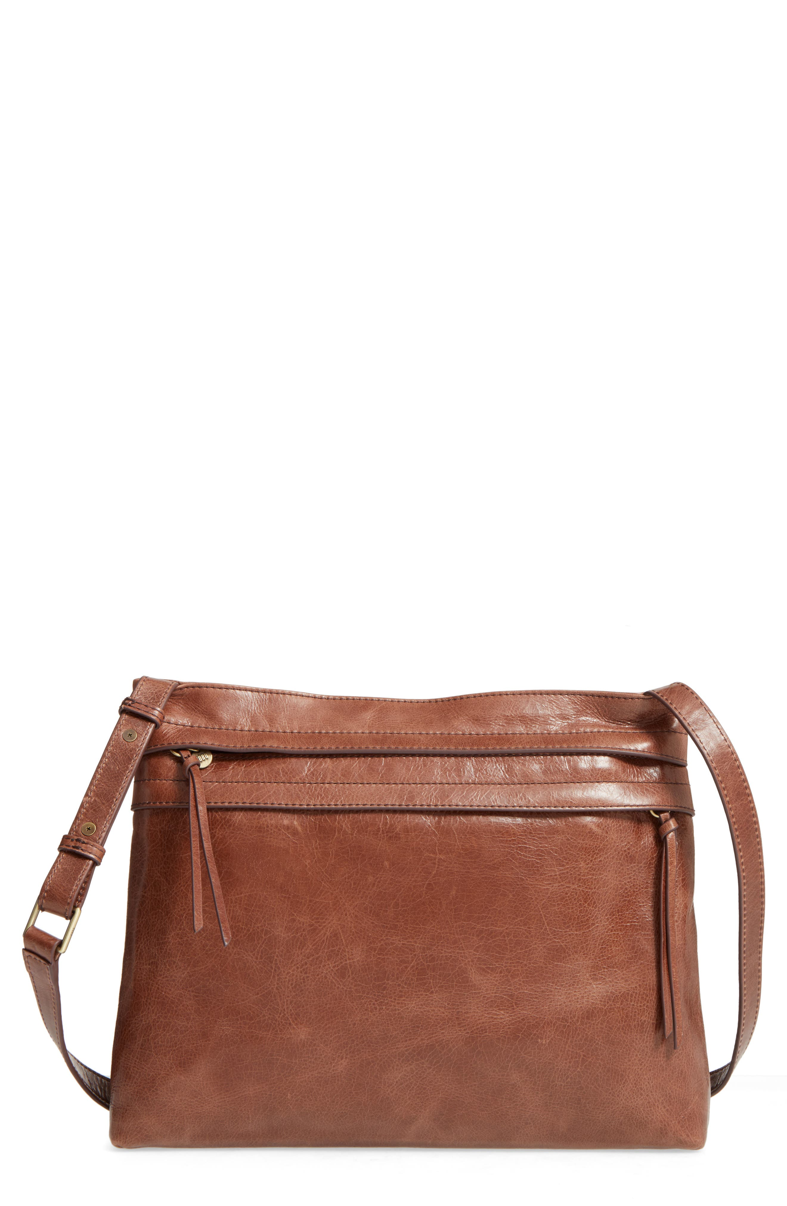 Main Image - Hobo Larkin Leather Messenger Bag