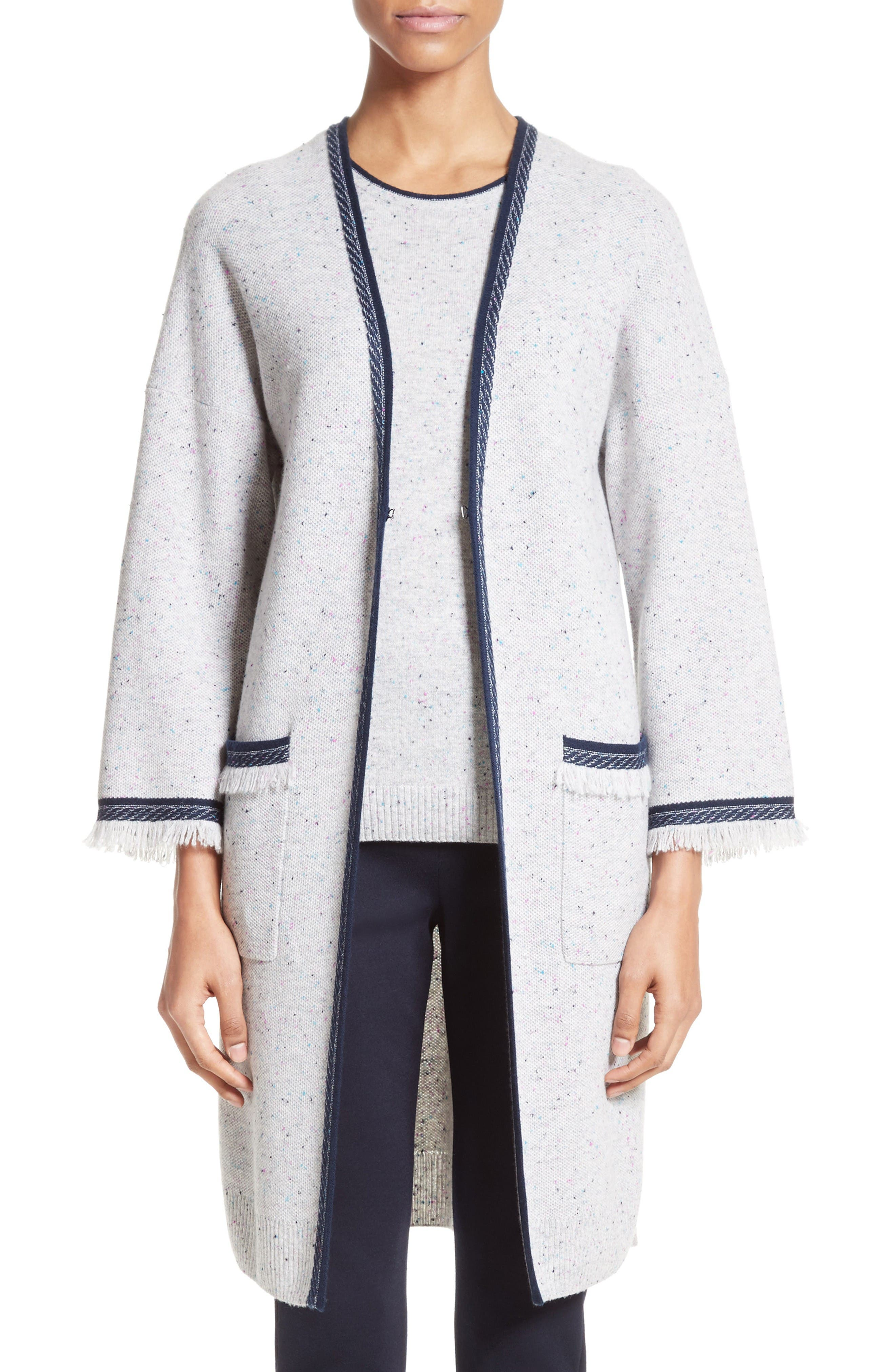 St. John Collection Cashmere Cardigan