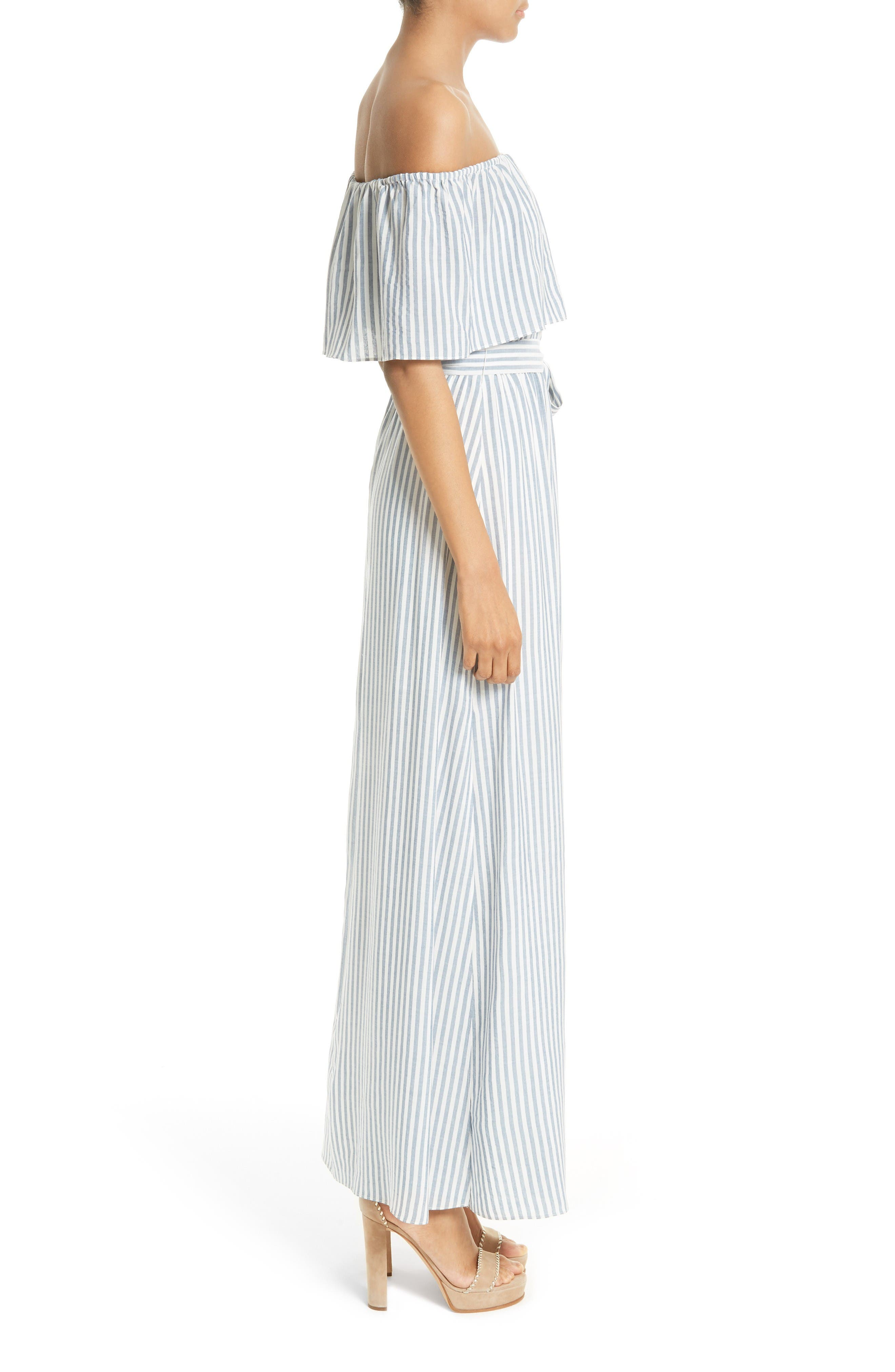 Alternate Image 3  - Alice + Olivia Grazi Off the Shoulder Maxi Dress