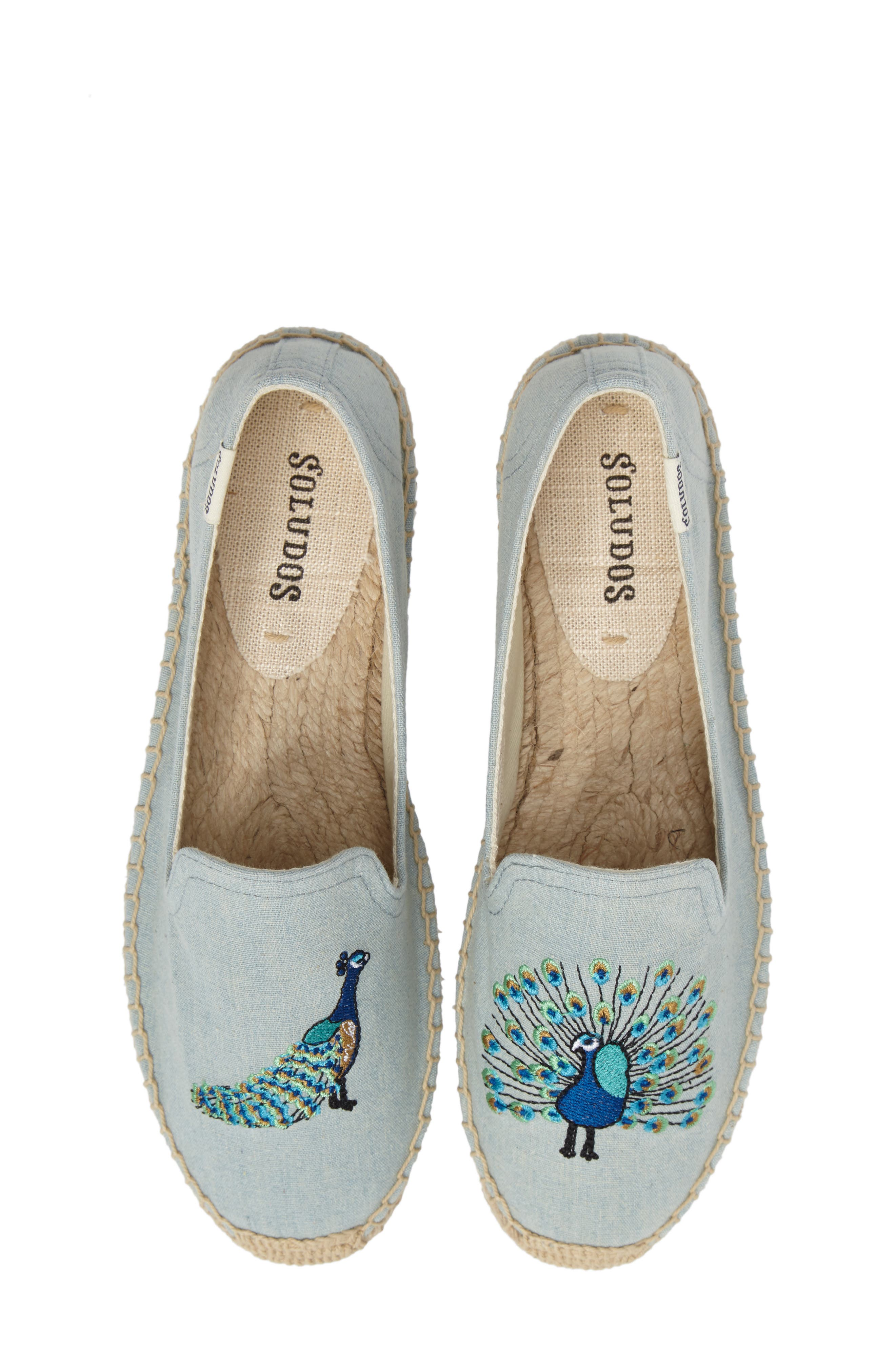 Soludos Peacock Espadrille Loafer (Women)