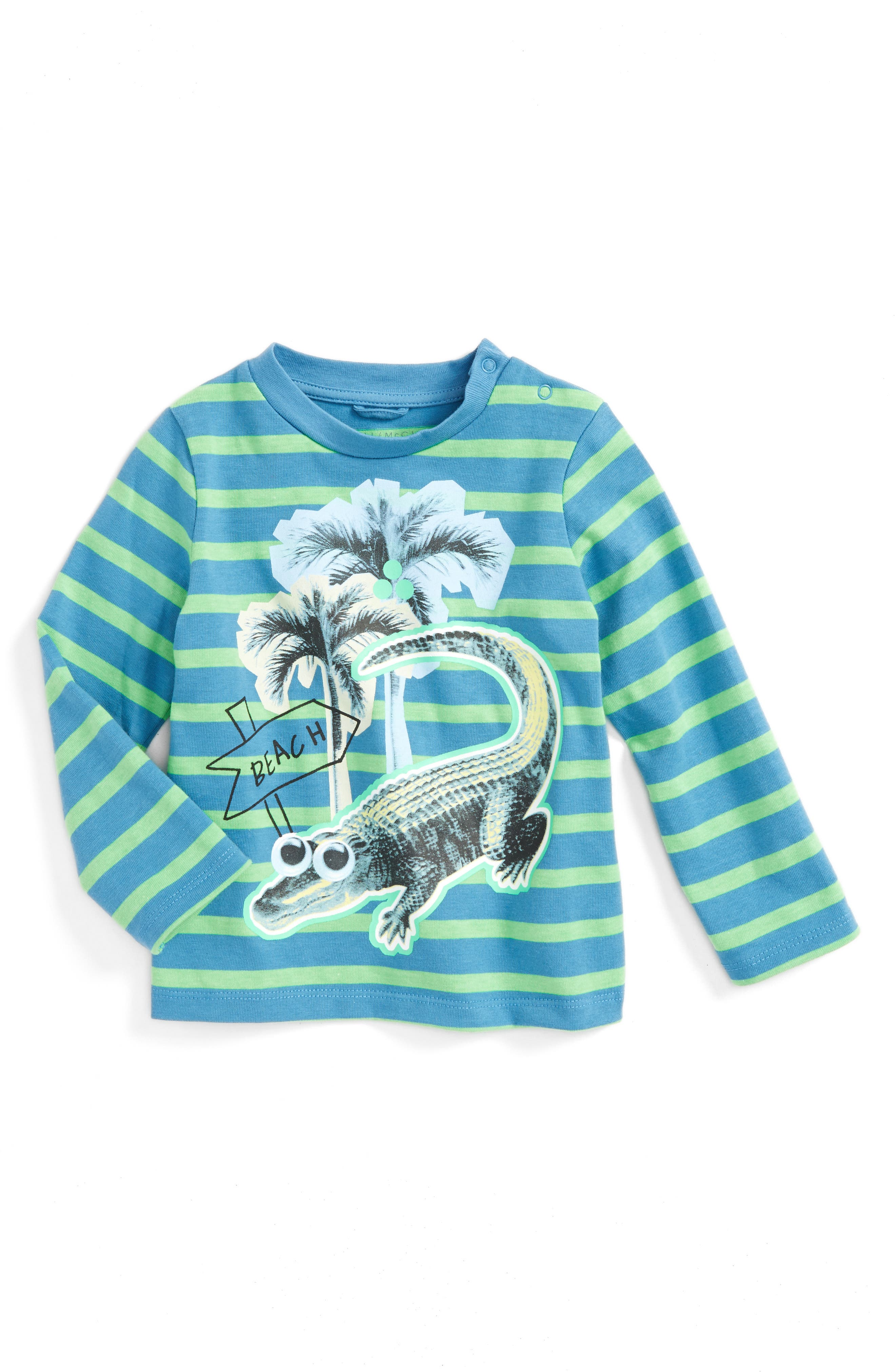 Stella McCartney Kids Alligator T-Shirt (Baby)