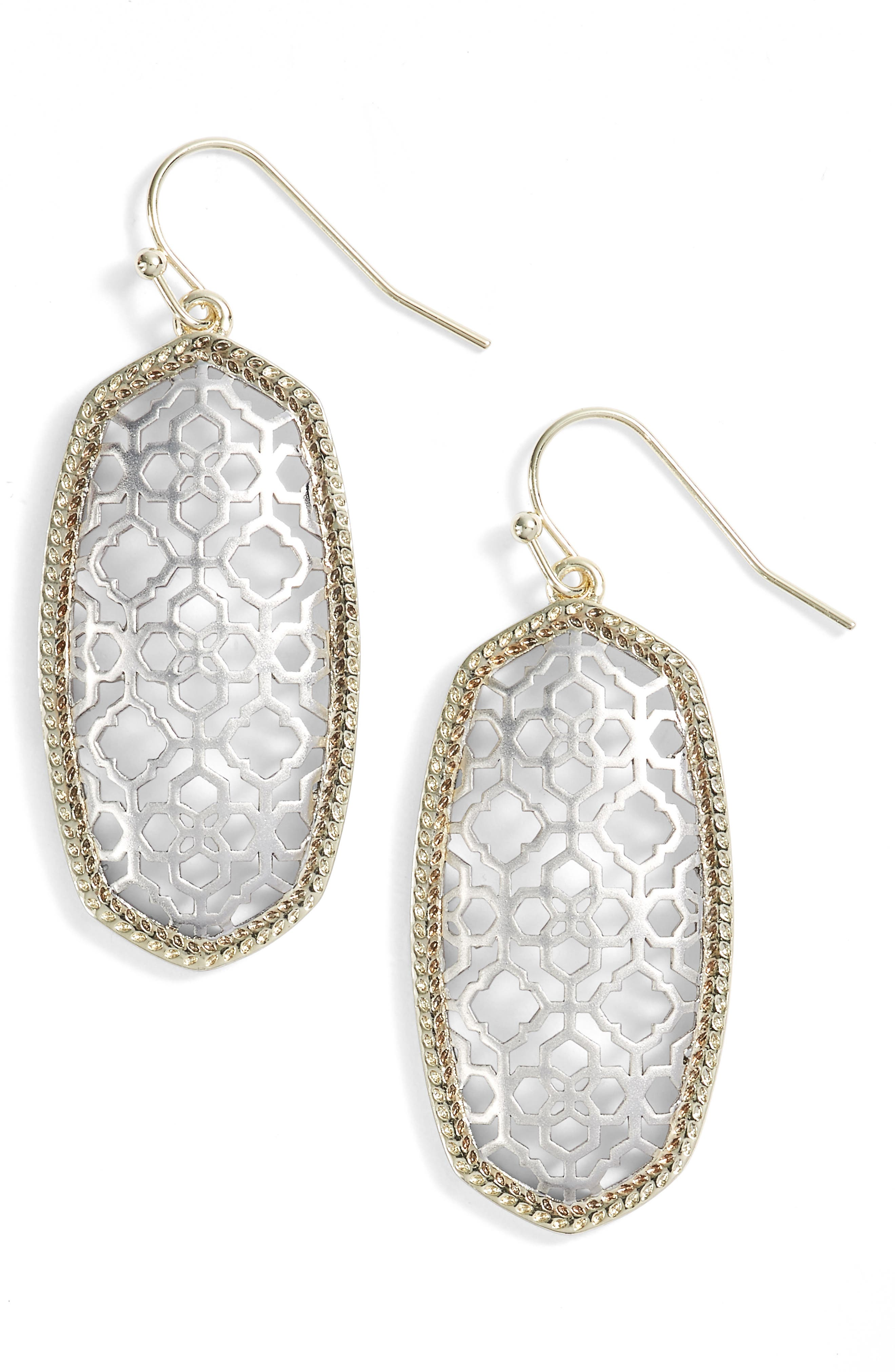 Kendra Scott Elle Openwork Drop Earrings