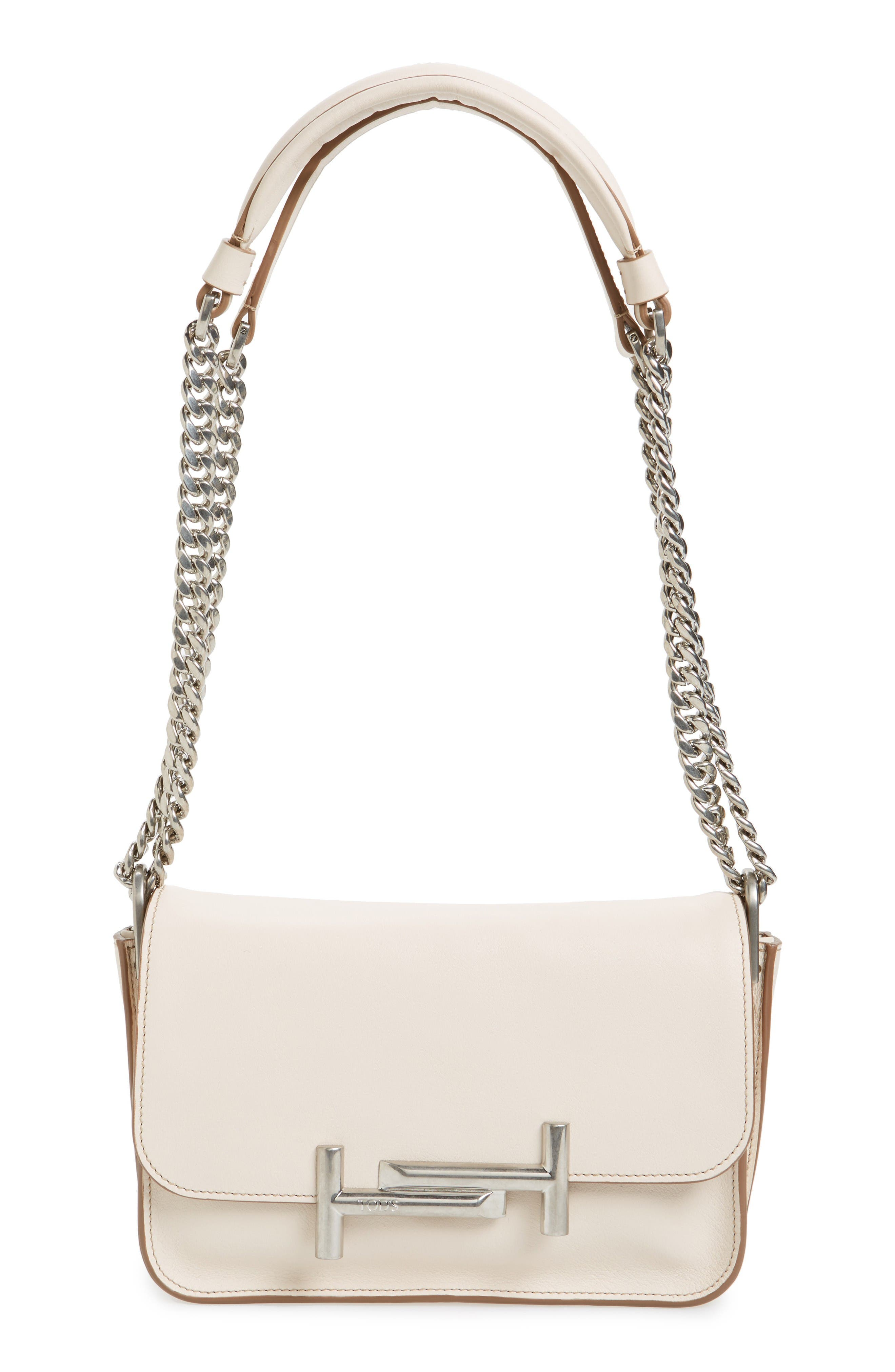 Tod's Mini Double T Leather Shoulder Bag