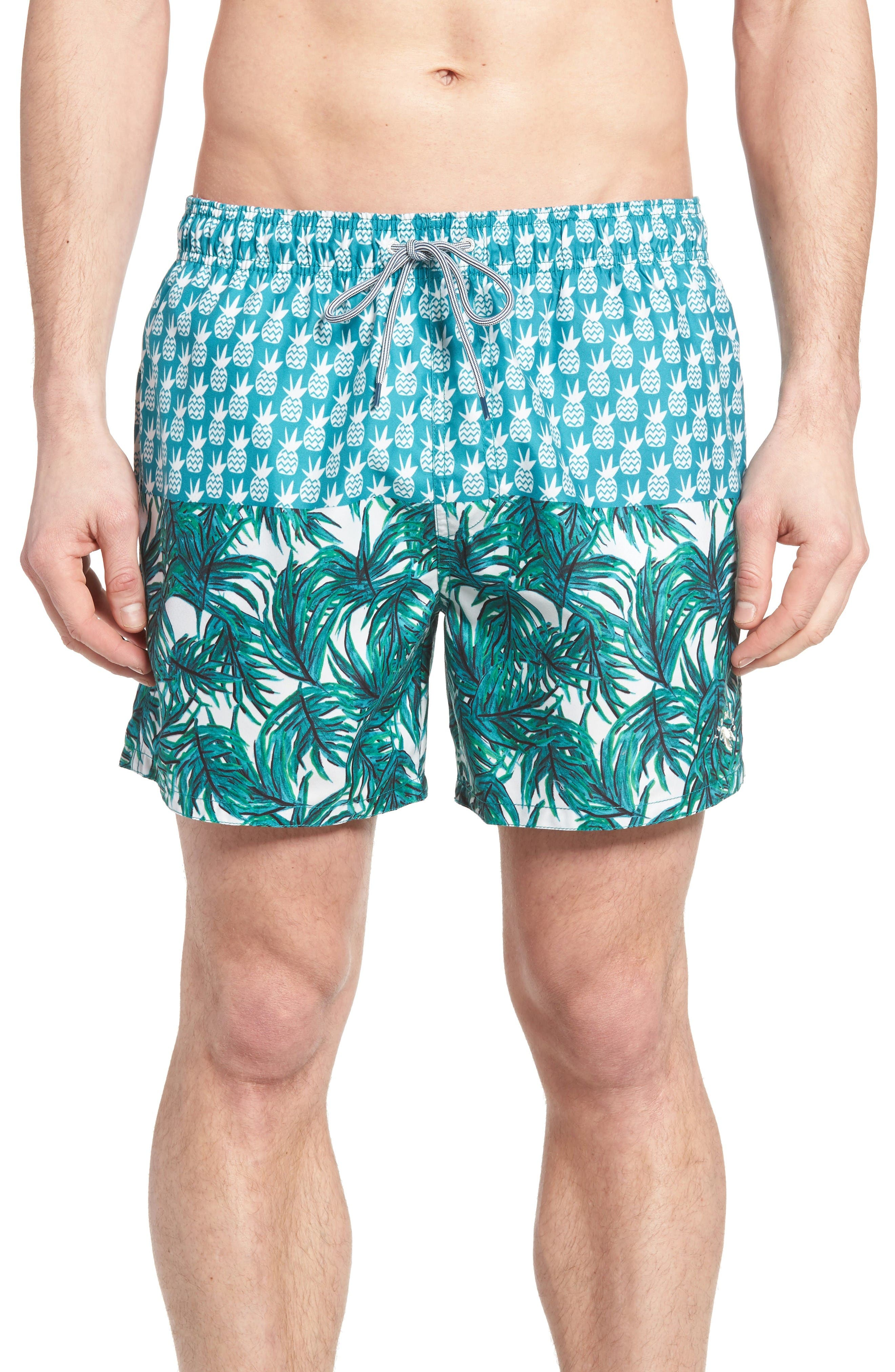 Ted Baker London Pineblo Swim Trunks