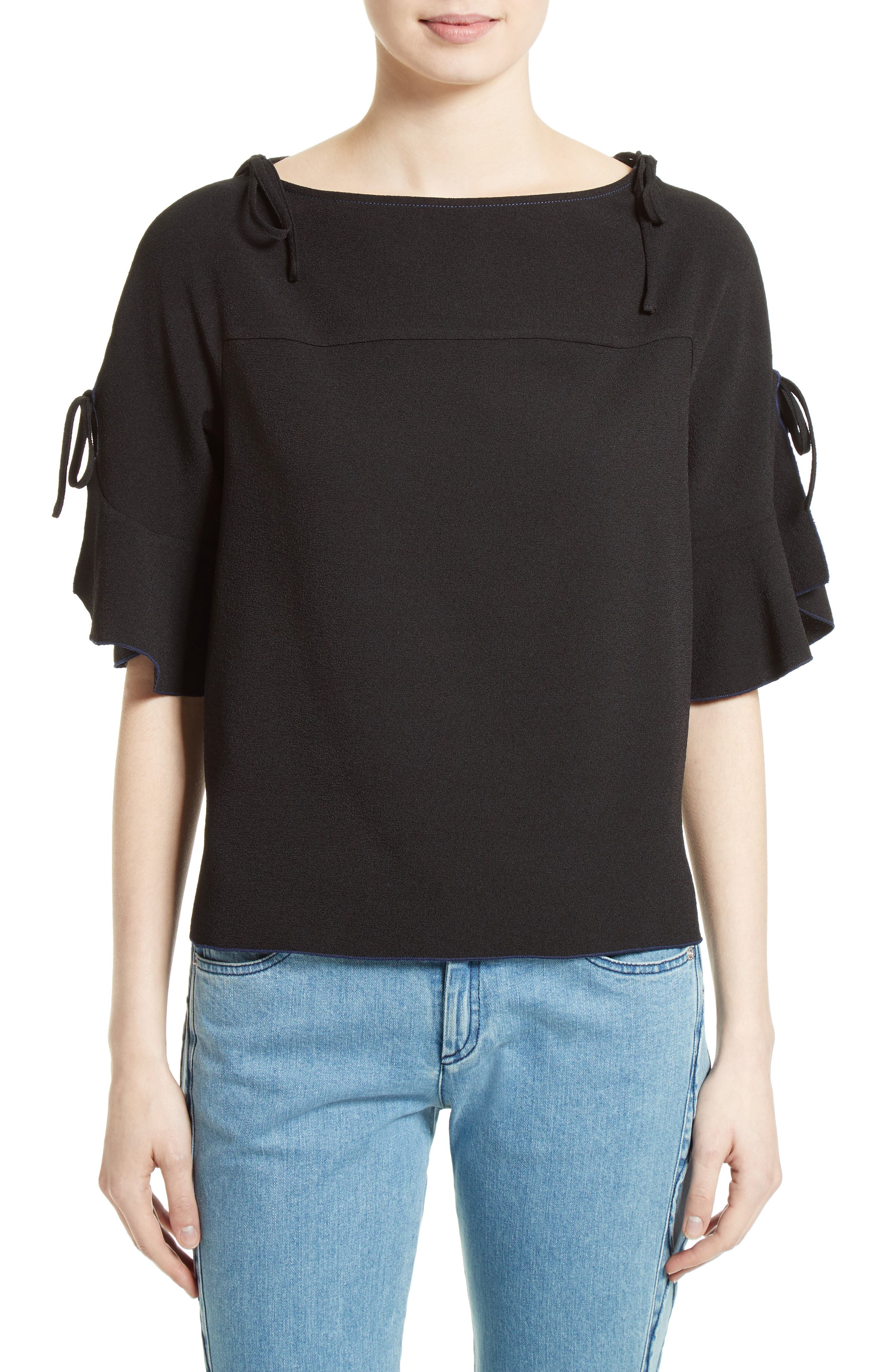 See by Chloé Tie Detail Top