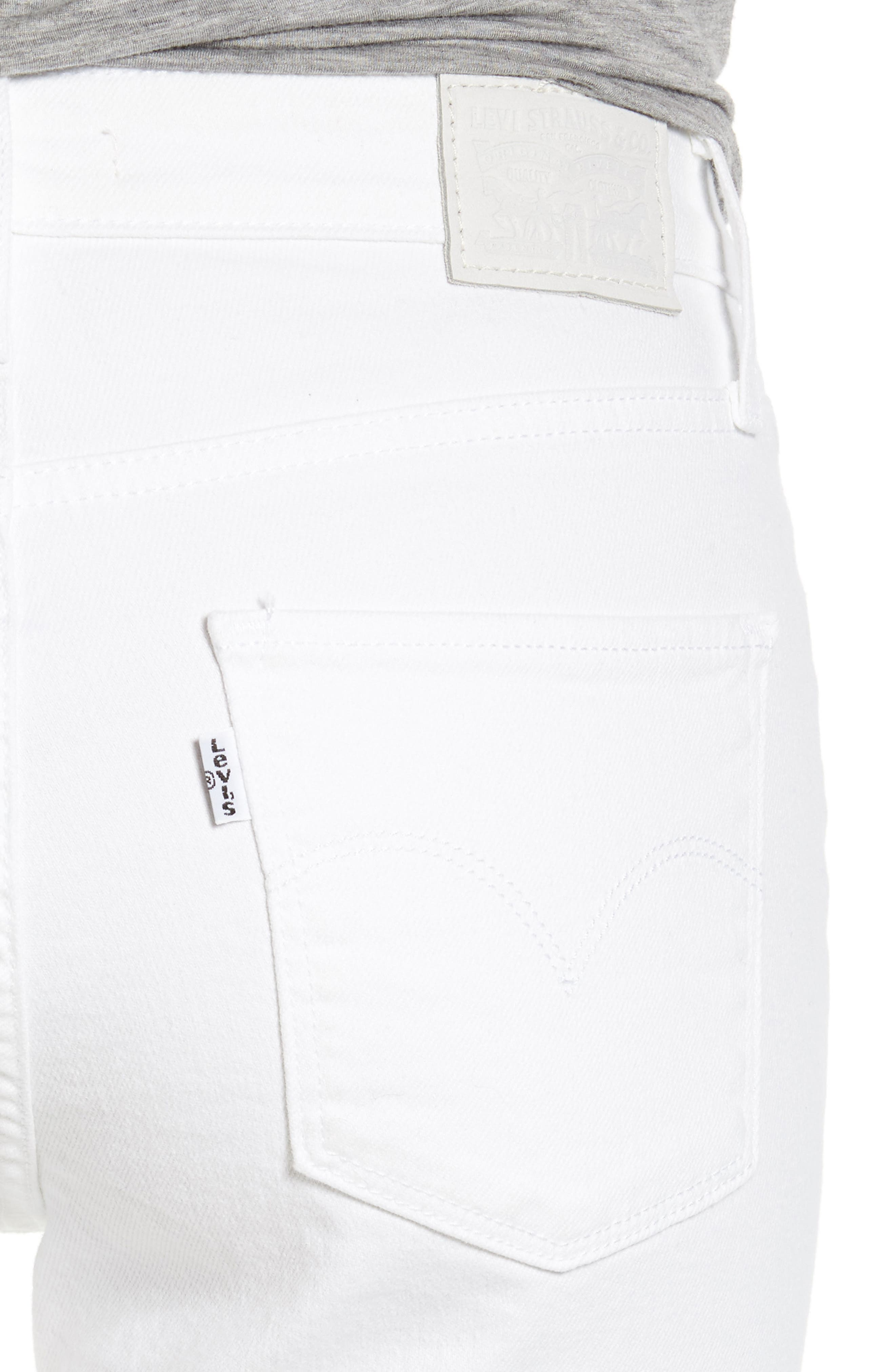 Alternate Image 4  - Levi's® 721 High Rise Skinny Jeans