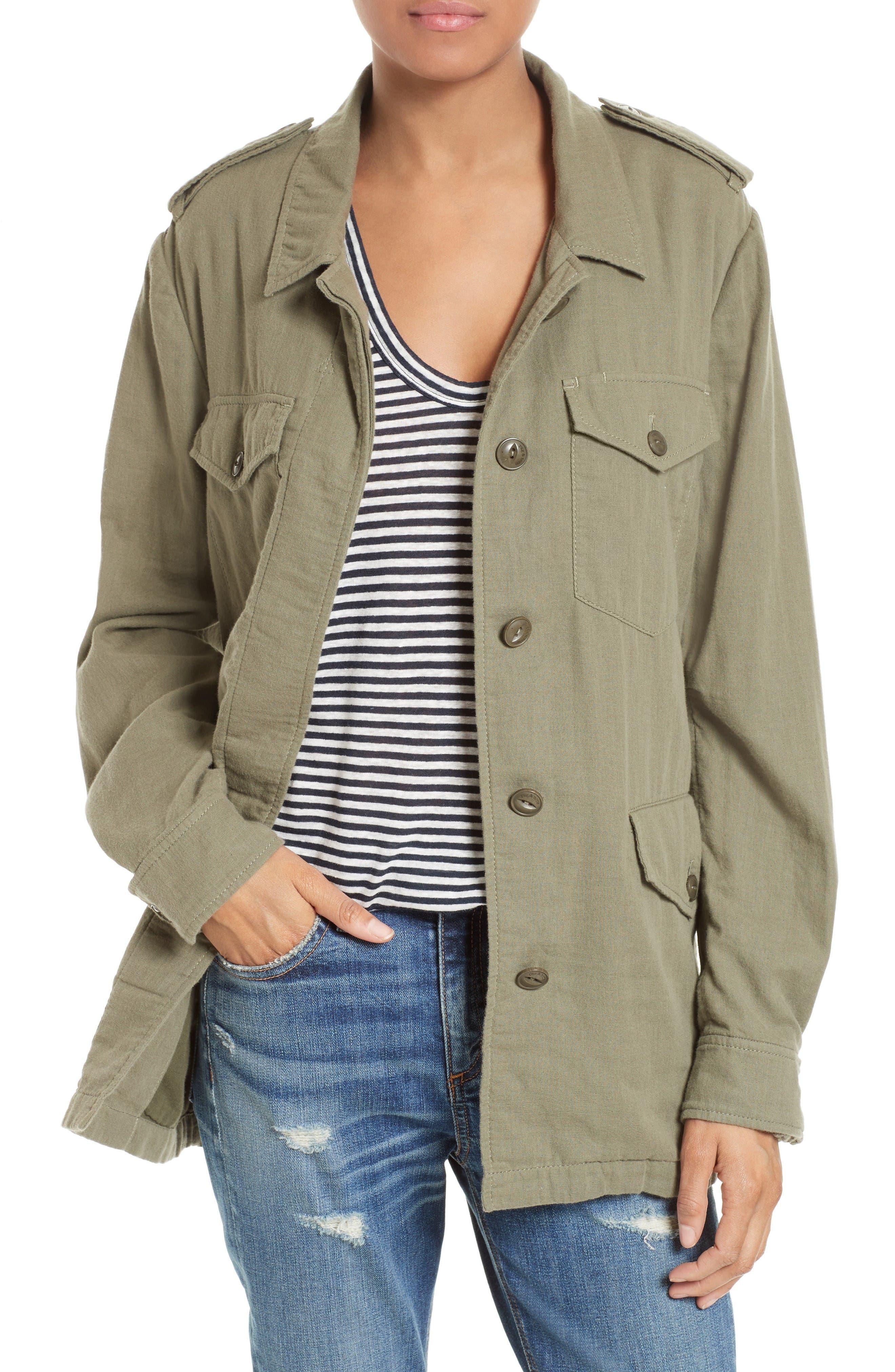 rag & bone/JEAN Bennett Cotton Utility Jacket