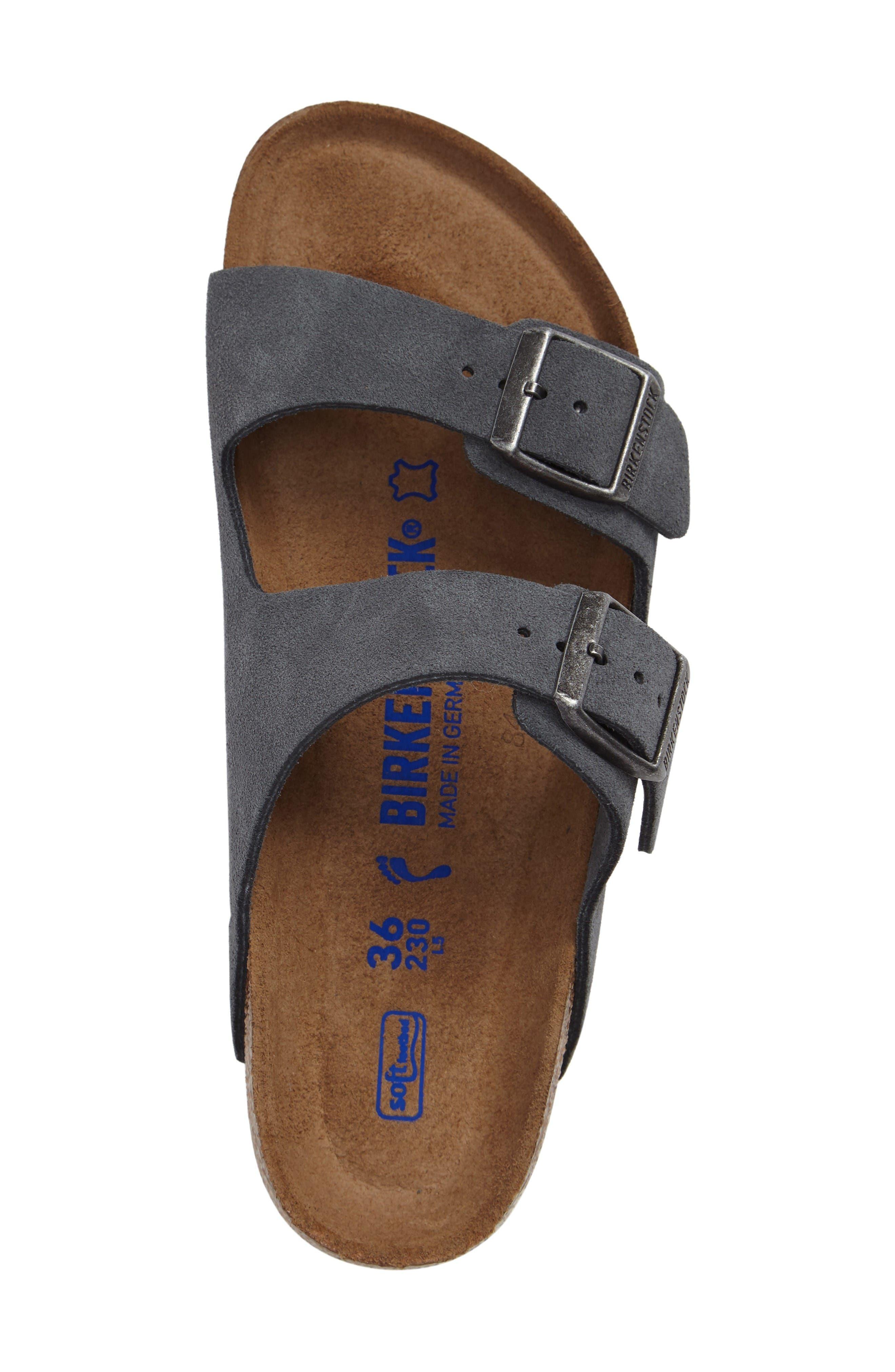 Alternate Image 3  - Birkenstock Arizona Birko-Flor Soft Footbed Slide Sandal (Women)