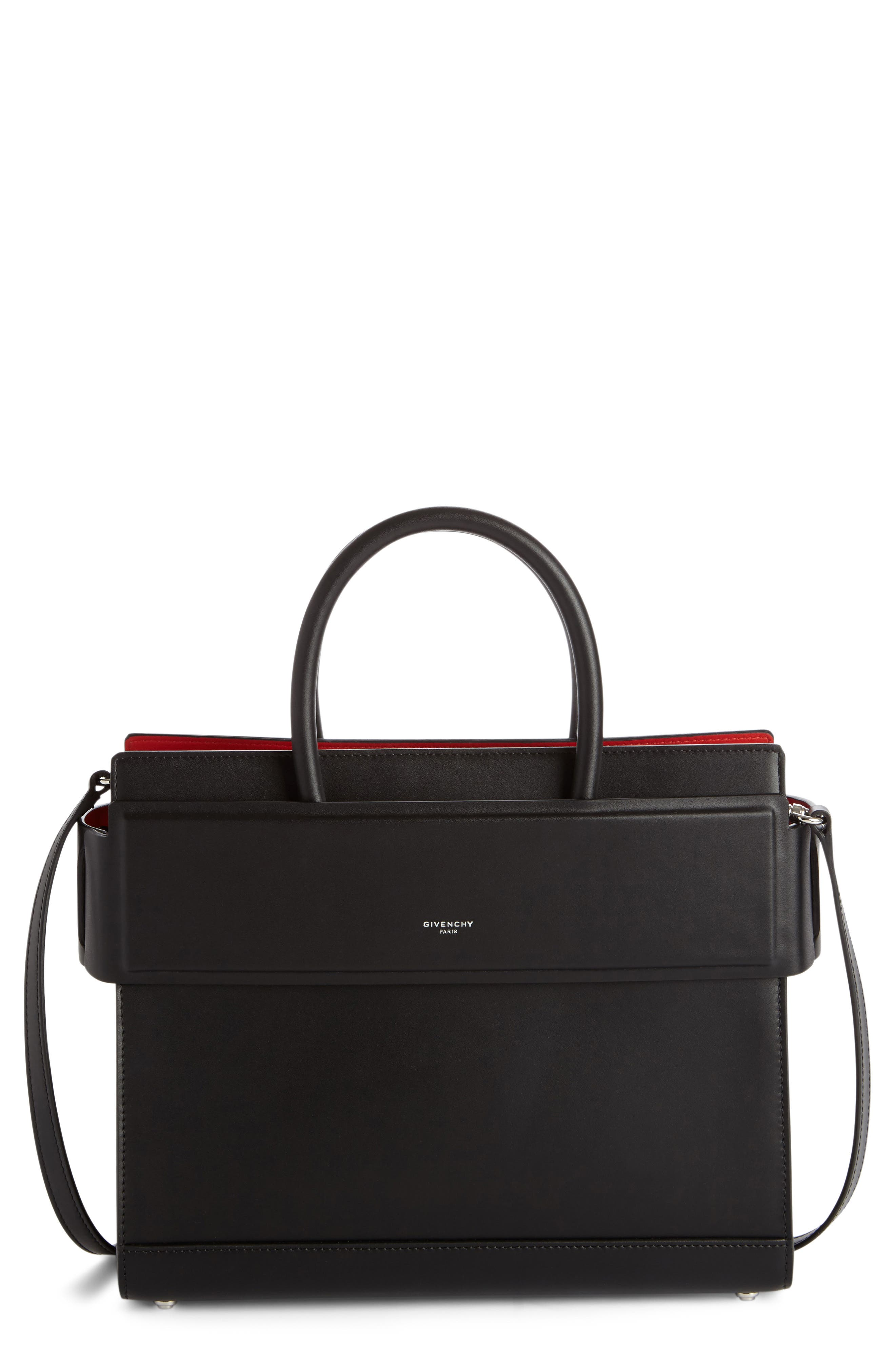 Alternate Image 1 Selected - Givenchy Small Horizon Calfskin Leather Tote