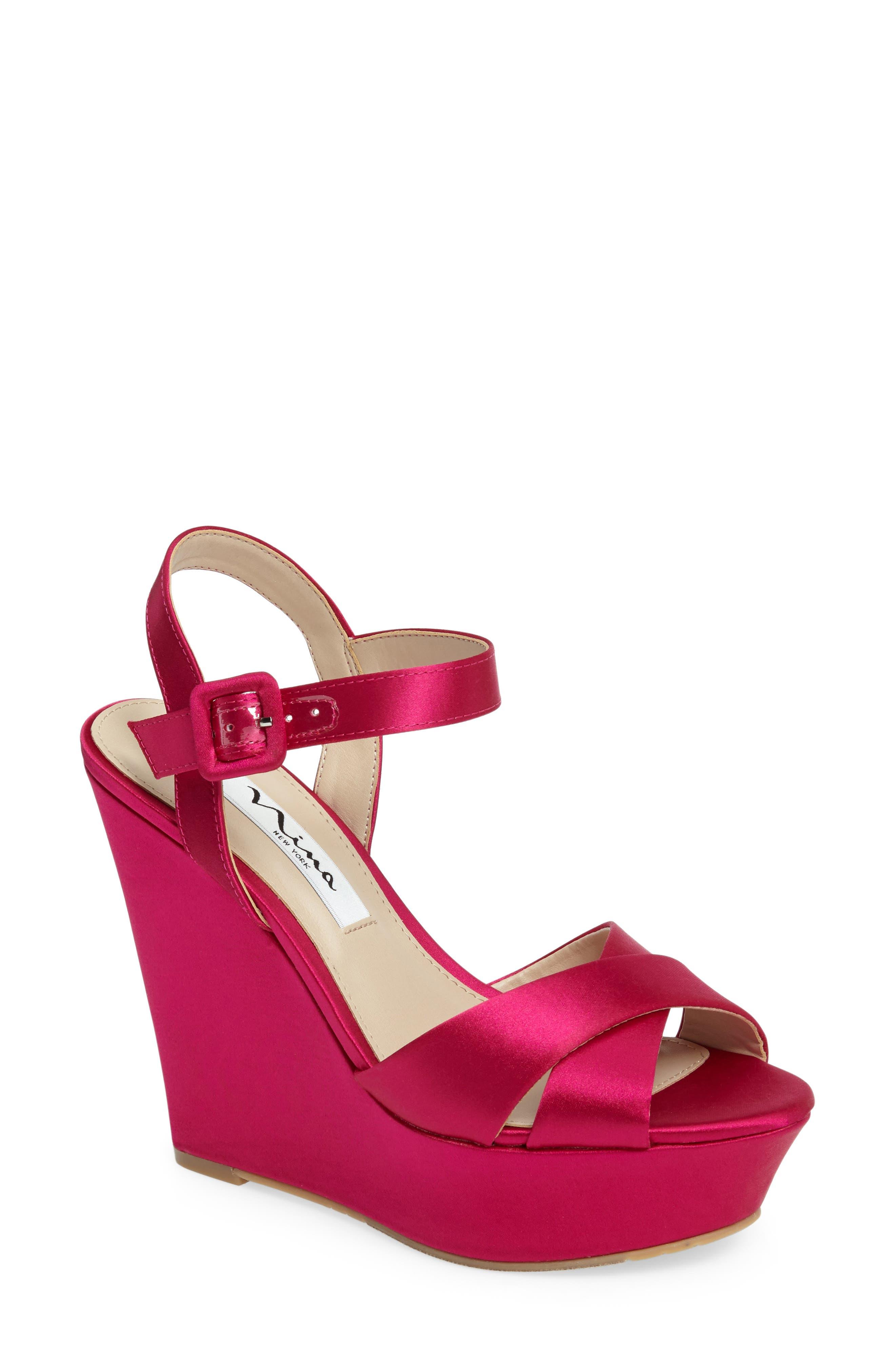 NINA Jinjer Platform Wedge Sandal
