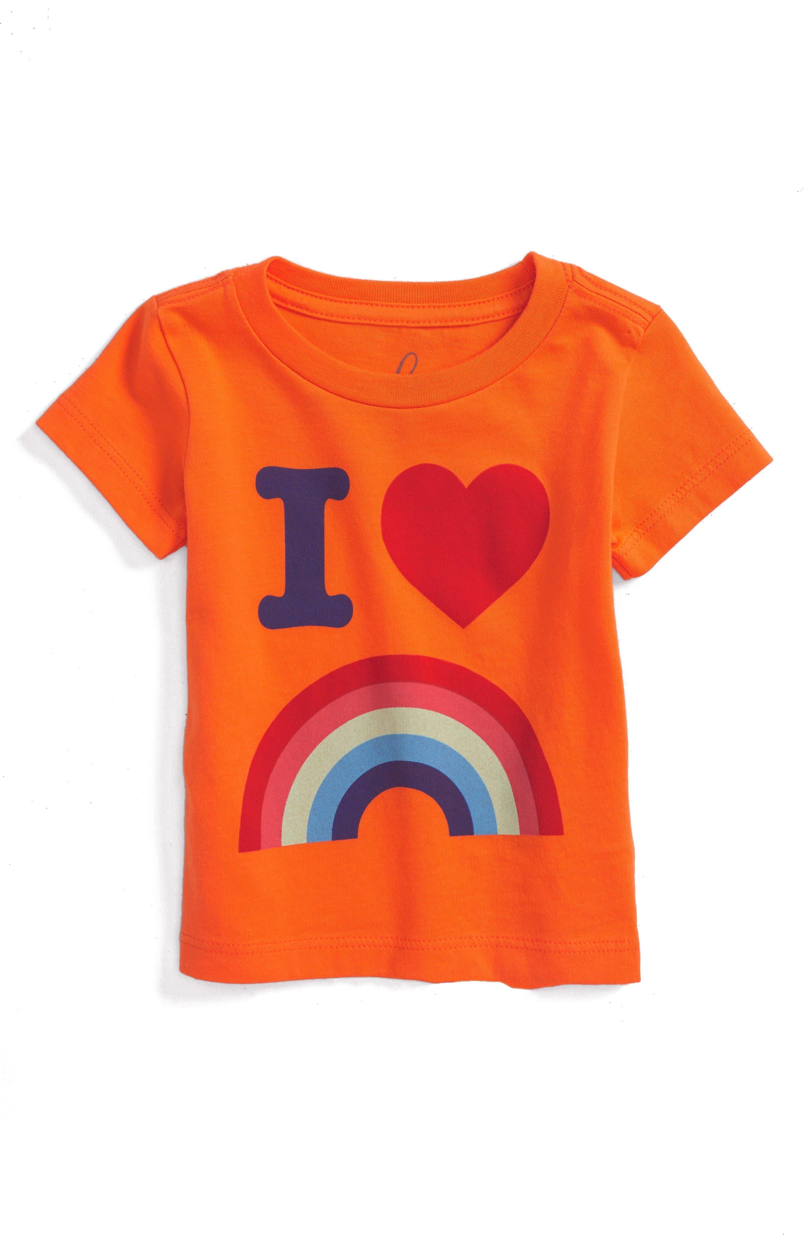 PEEK ESSENTIALS Peek Rainbow Graphic T-Shirt