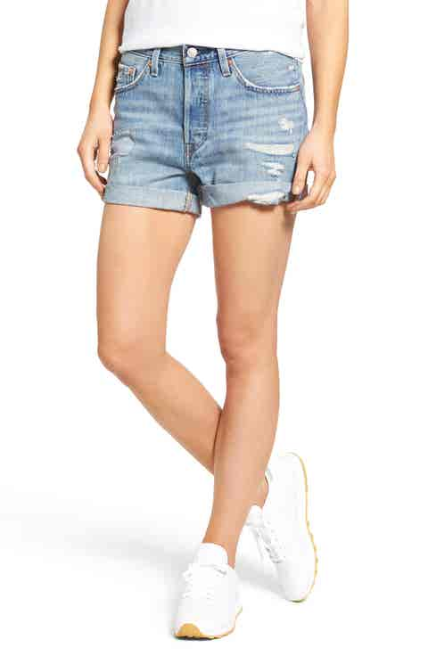 Levi's® 501 Long Denim Shorts