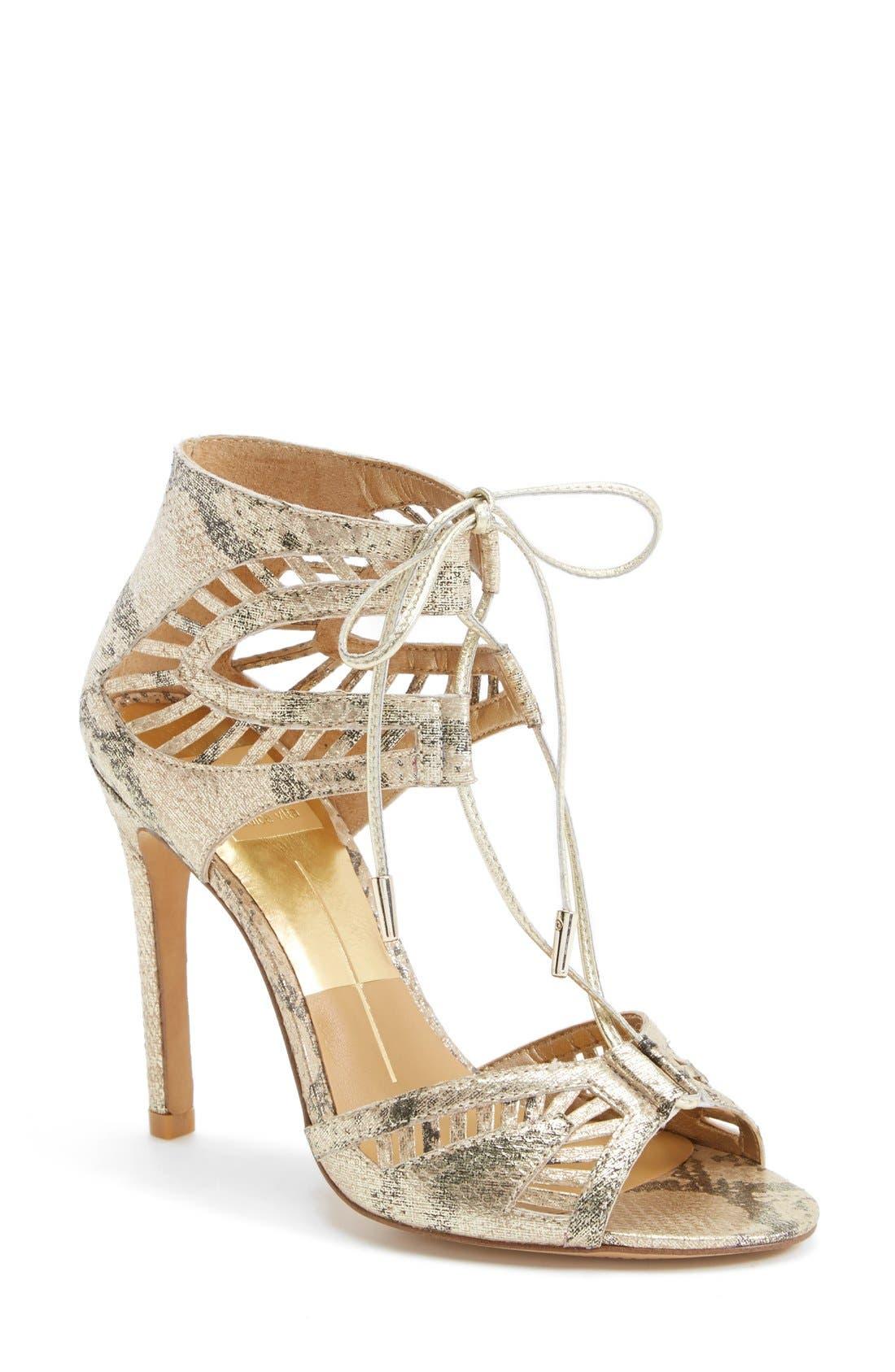 Main Image - Dolce Vita 'Henlie' Open Toe Sandal (Women)