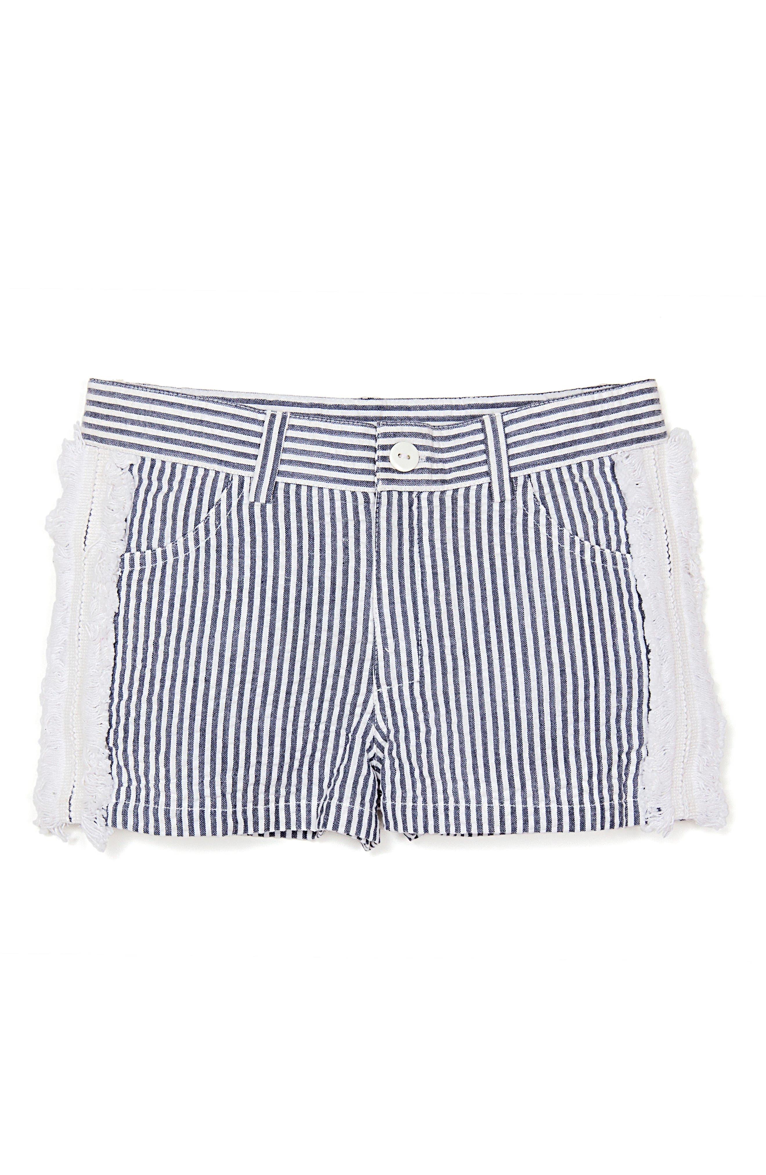 Masalababy Seersucker Shorts (Toddler Girls, Little Girls & Big Girls)
