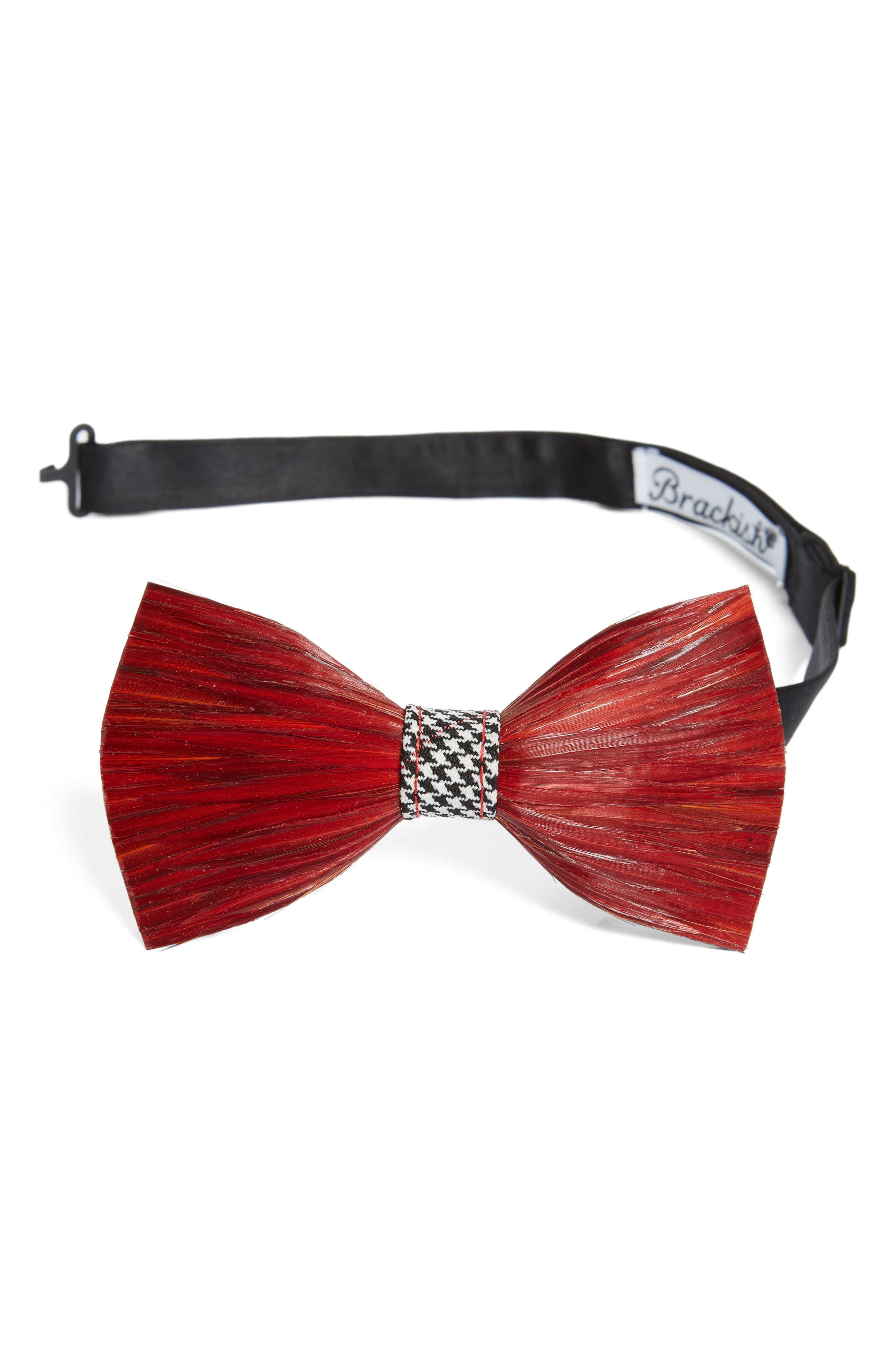 Brackish & Bell Hound Feather Bow Tie