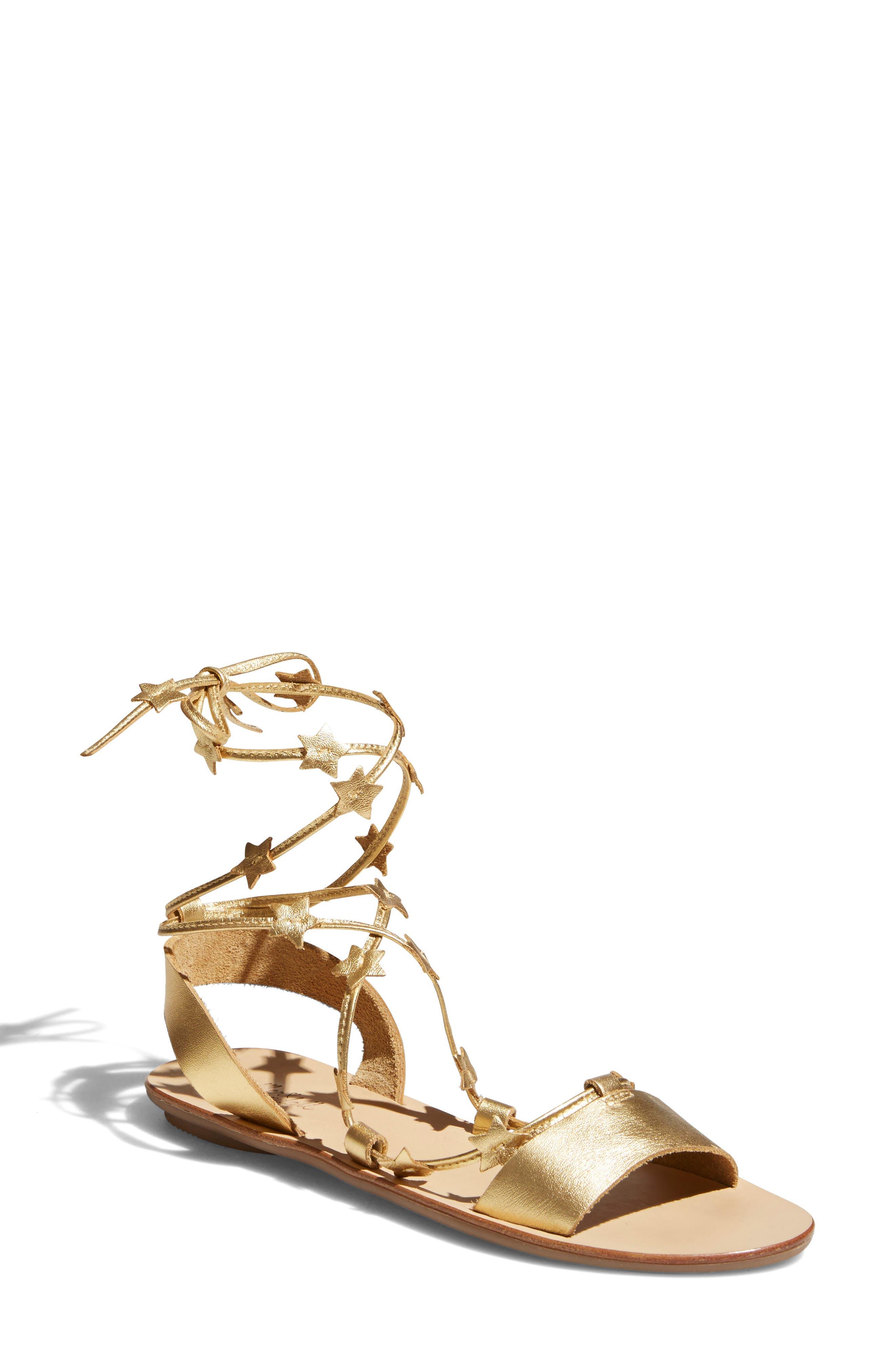 Alternate Image 1 Selected - Loeffler Randall Starla Ankle Wrap Sandal (Women)
