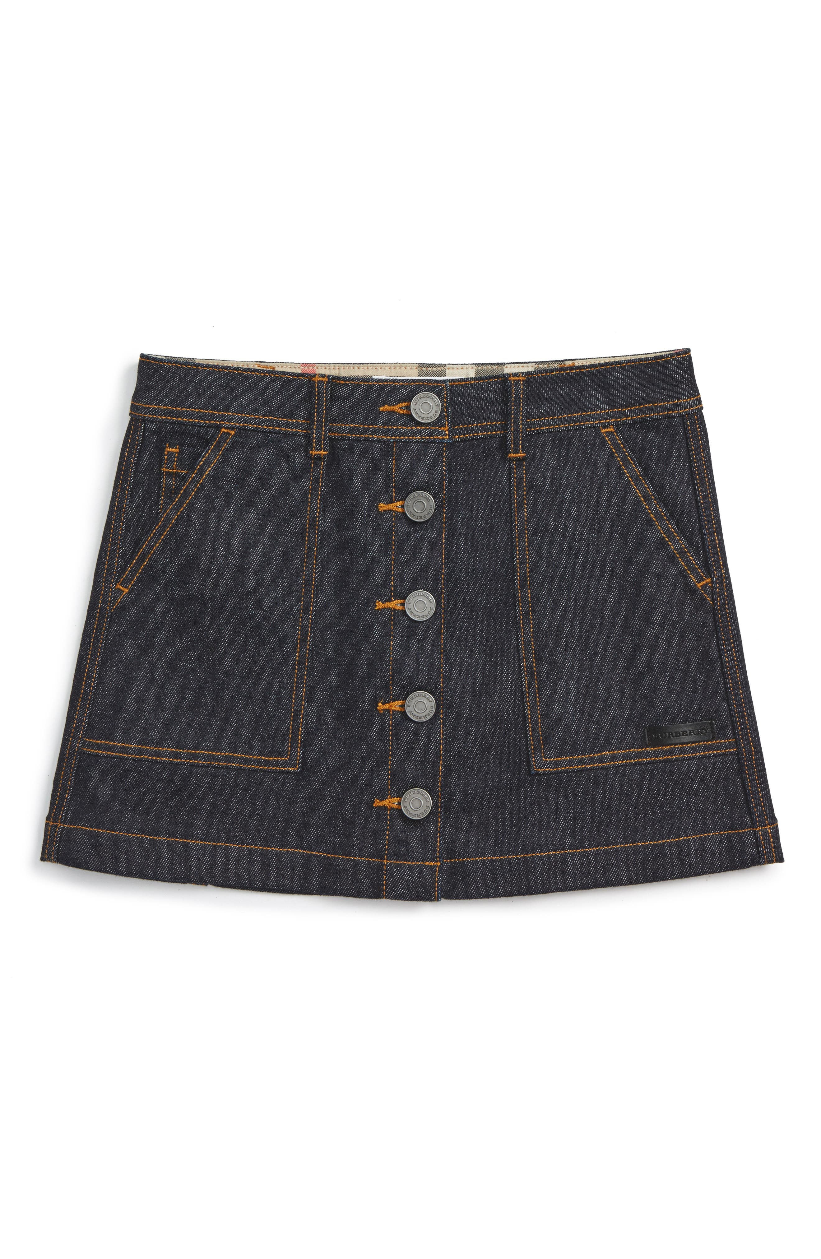 Burberry Sarie Denim Skirt (Little Girls & Big Girls)