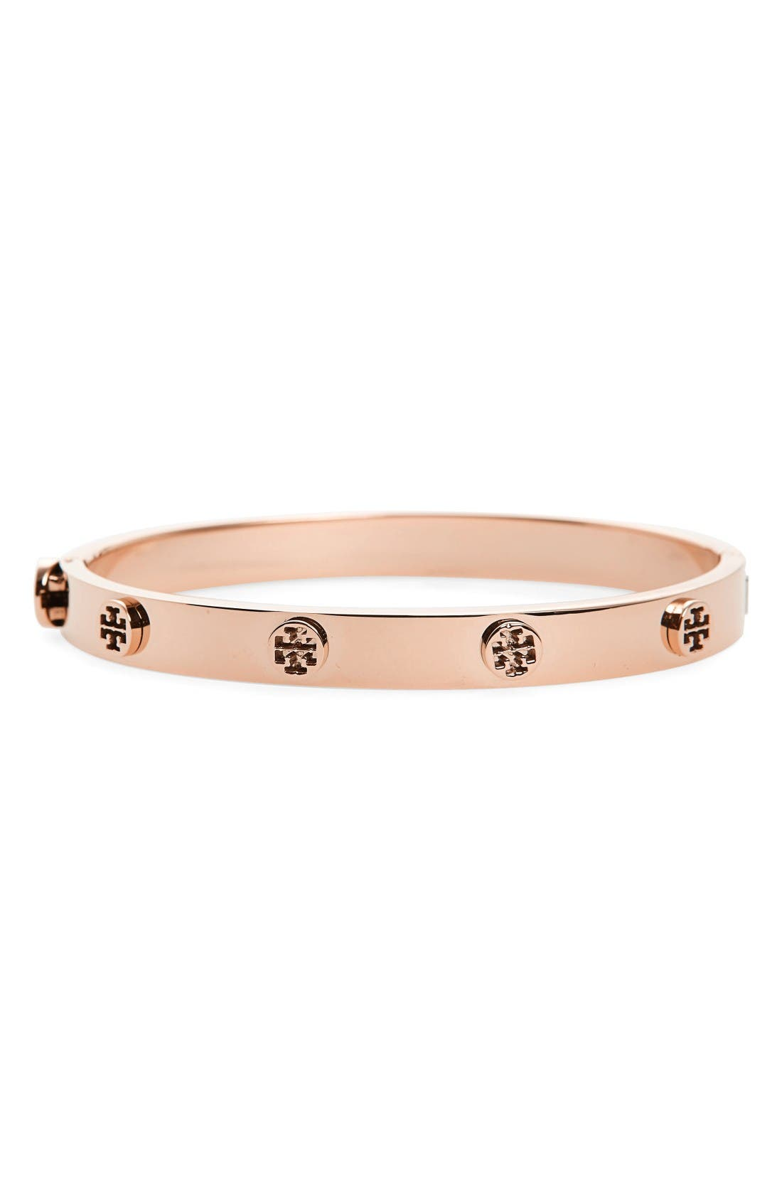 Tory Burch Logo Stud Bangle