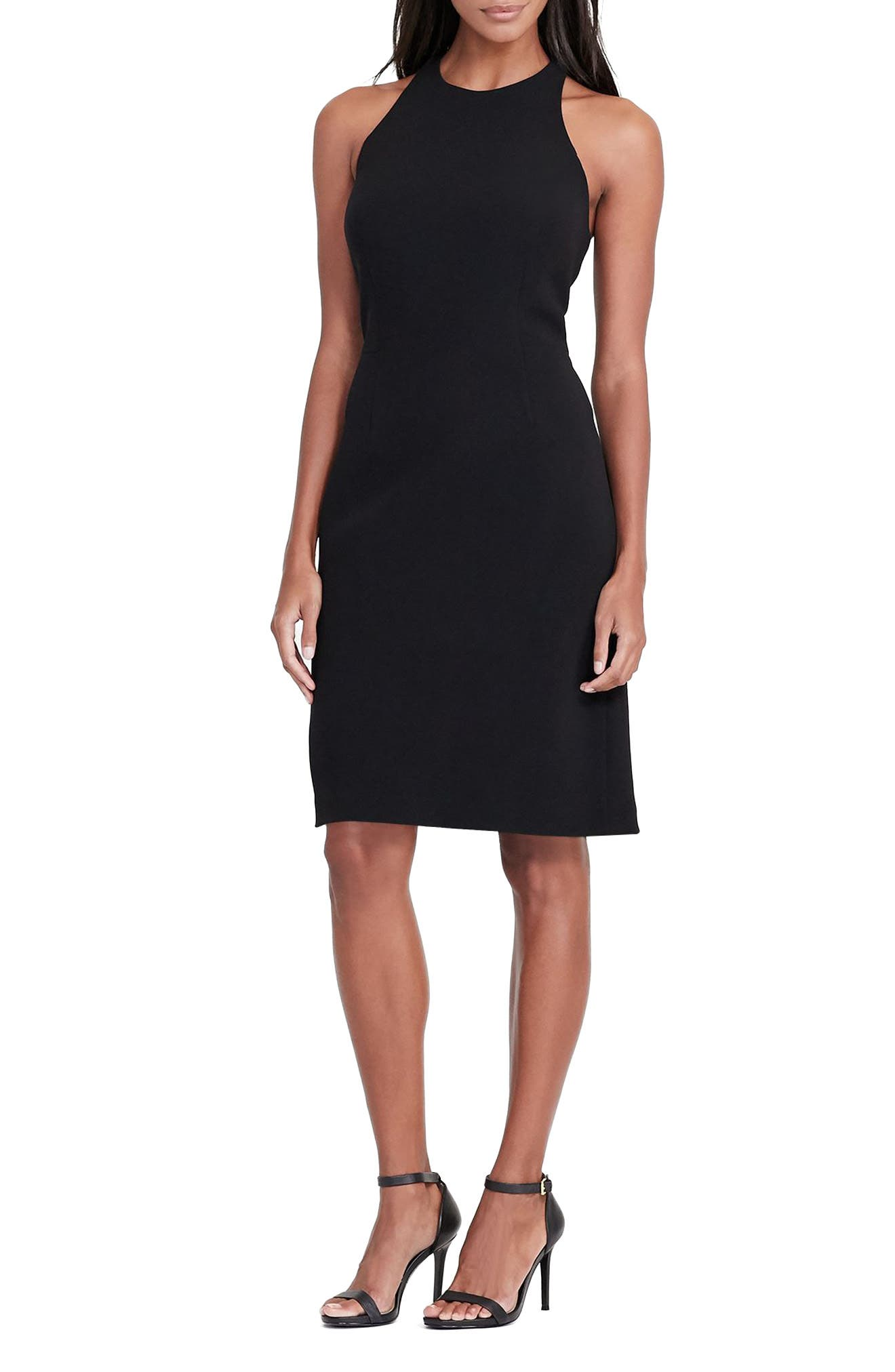 Lauren Ralph Lauren Crepe Sheath Dress