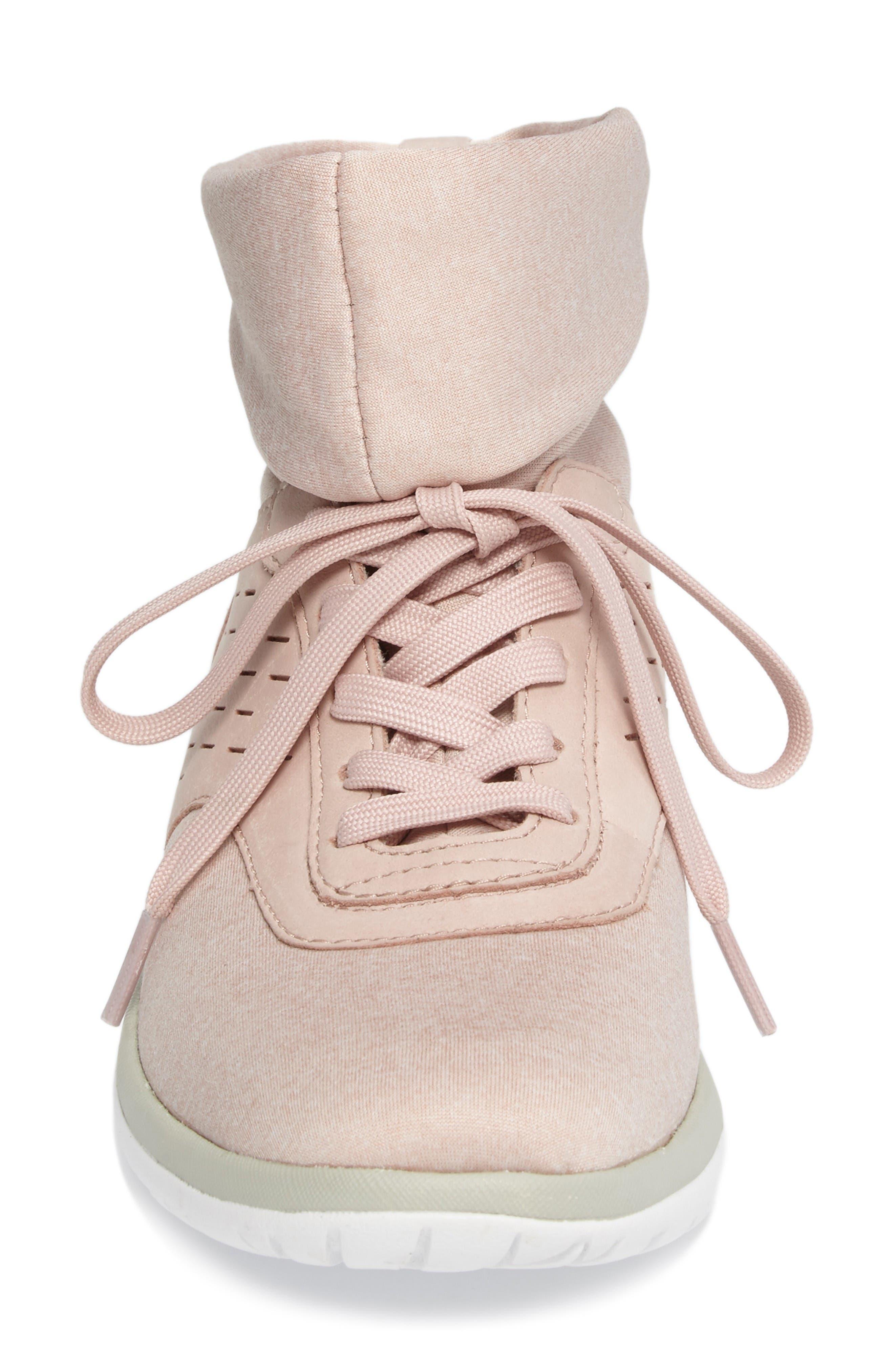 Alternate Image 4  - UGG® Islay High Top Sneaker (Women)
