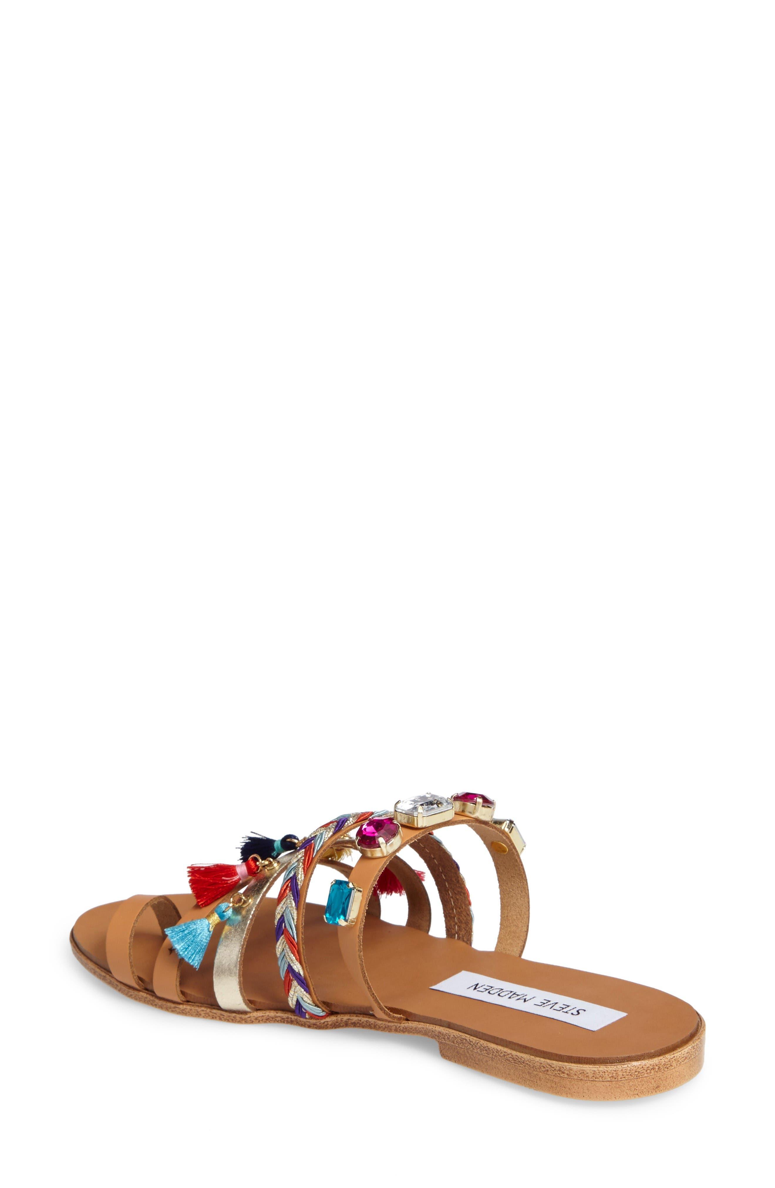 Alternate Image 2  - Steve Madden Cary Embellished Sandal (Women)