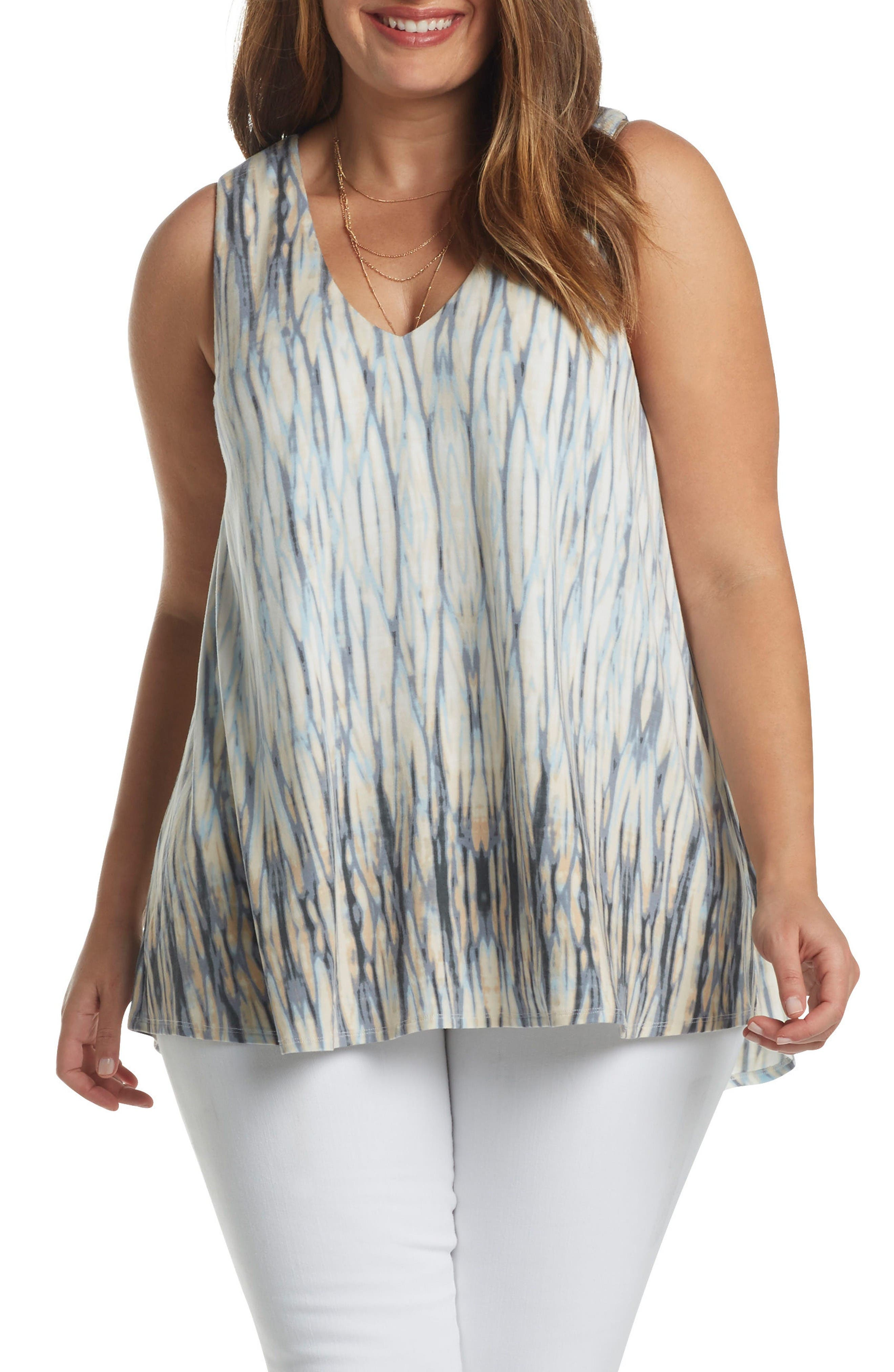 Tart Annora Print Knit Top (Plus Size)