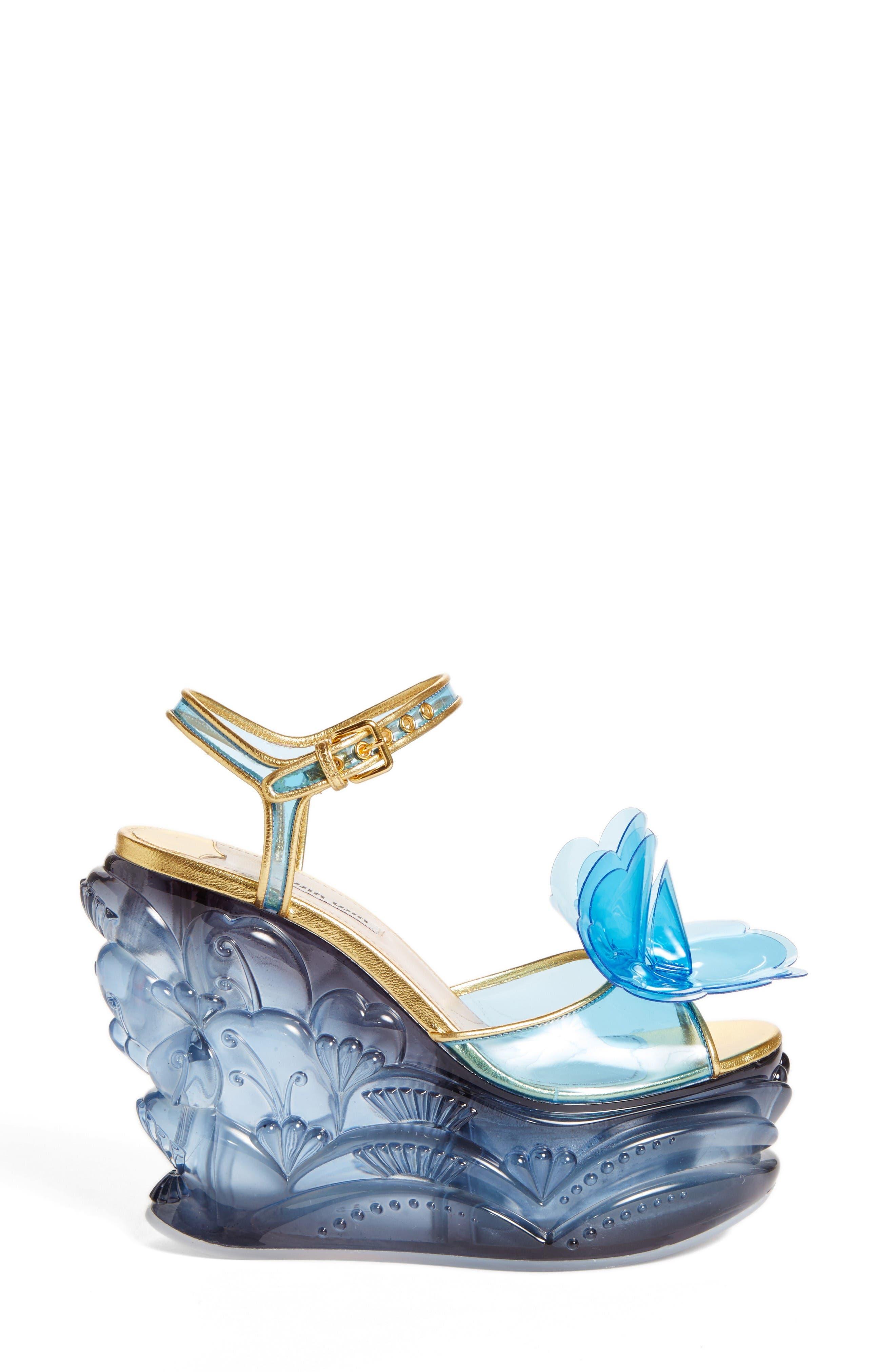 Alternate Image 4  - Miu Miu Wedge Sandal (Women)