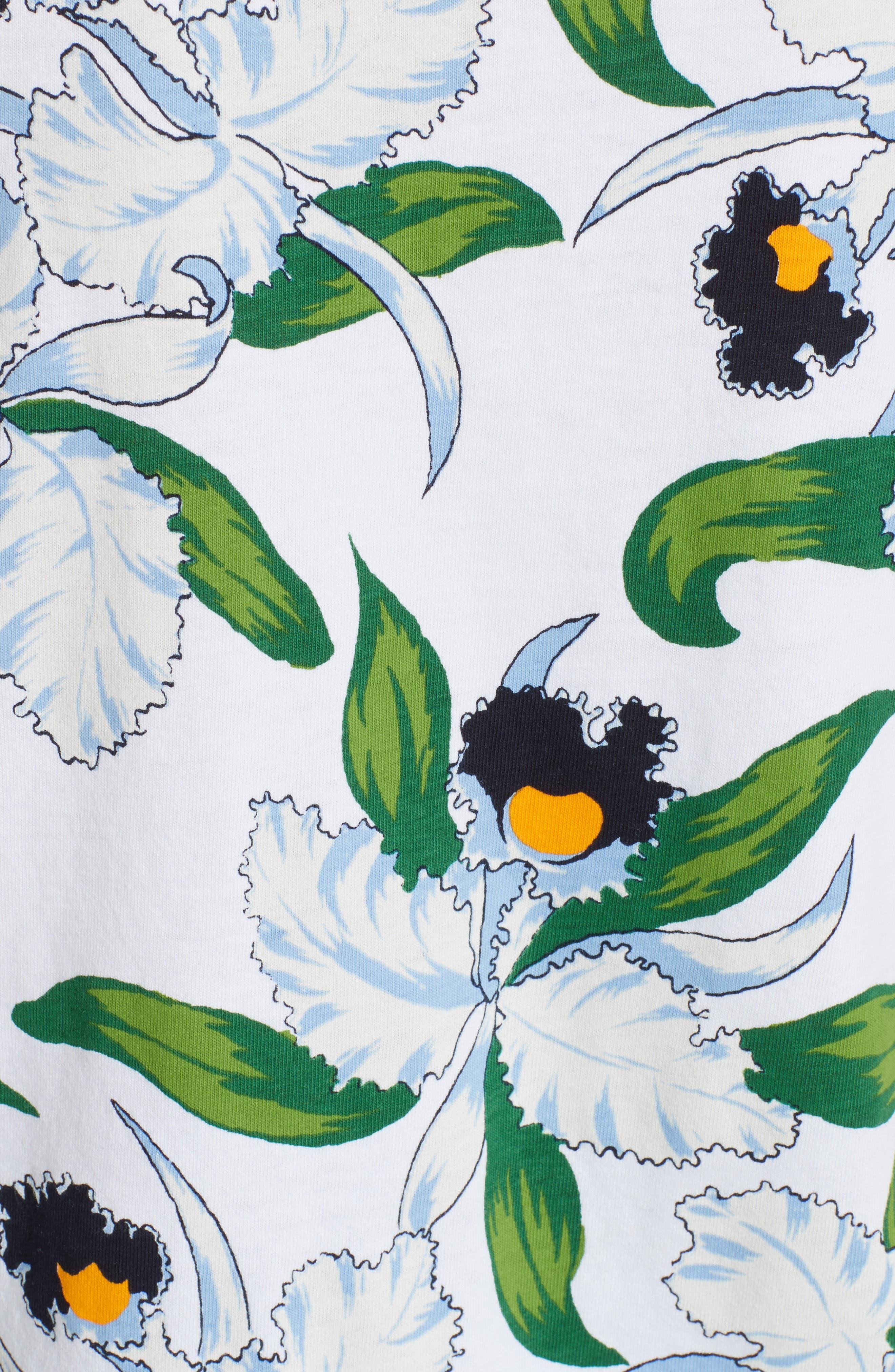Alternate Image 5  - Tory Burch Vienna Floral Print Tee