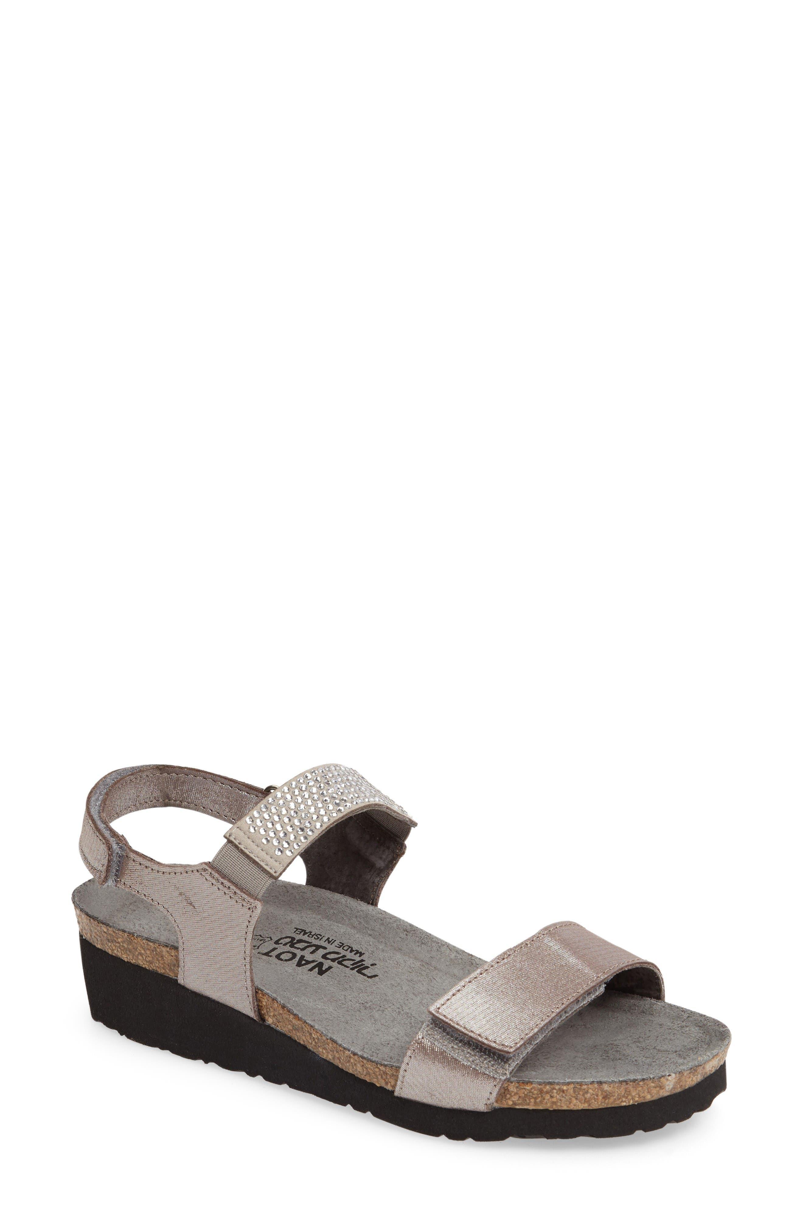 NAOT 'Lisa' Crystal Embellished Sandal
